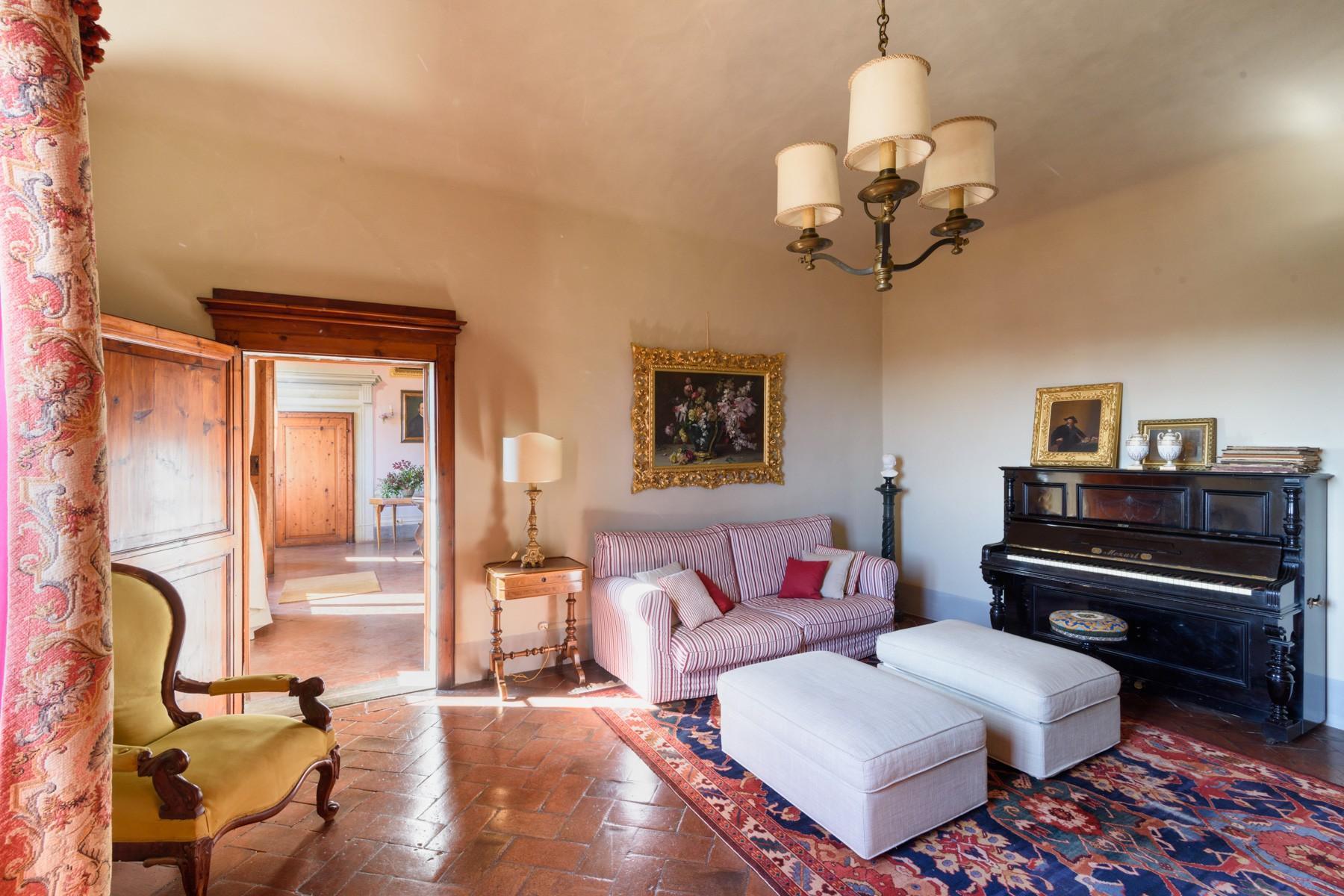 Magnifique villa historique et réserve de chasse près de Florence - 7