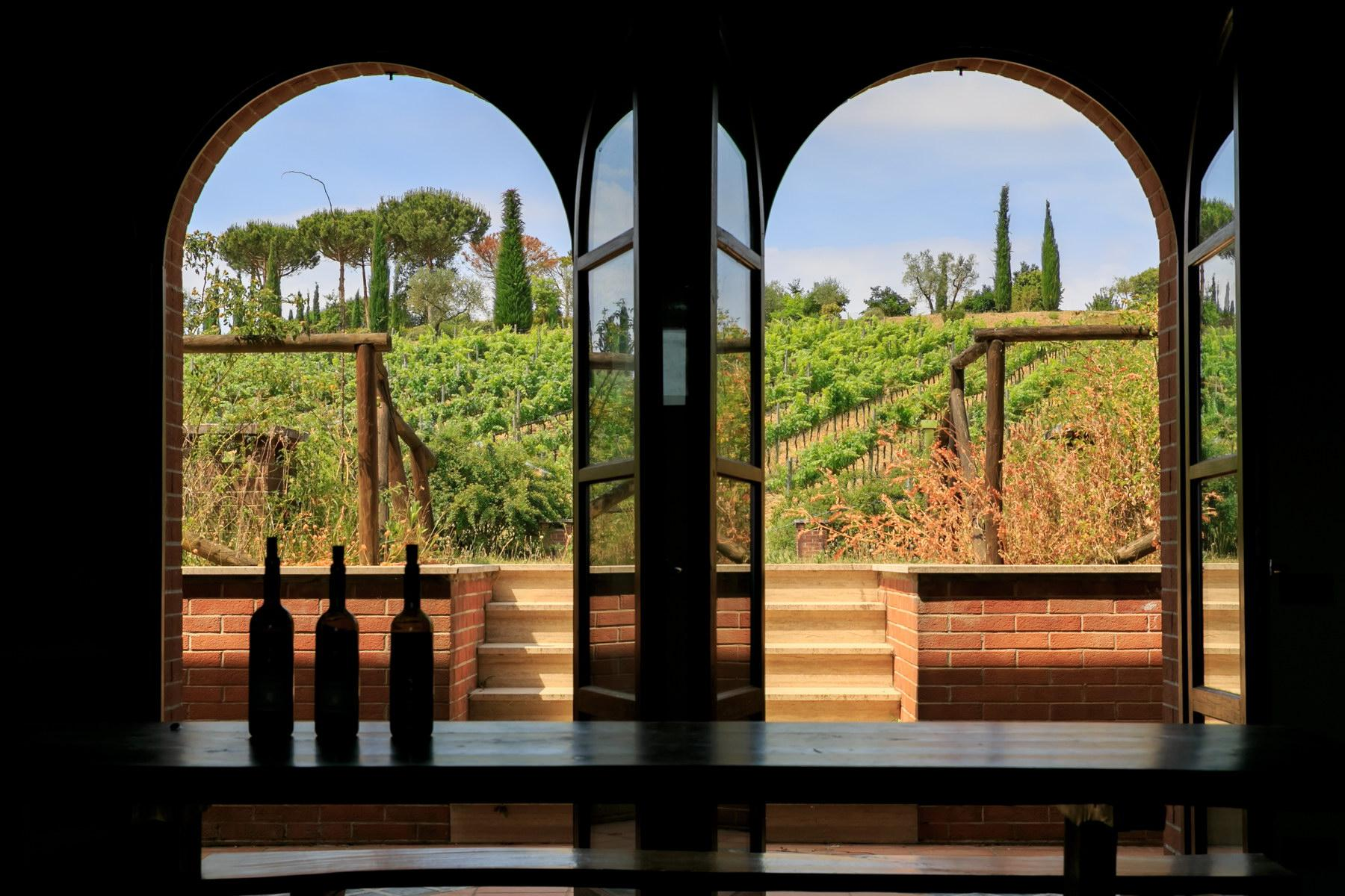 Wonderful wine estate with spectacular views of Montepulciano - 5