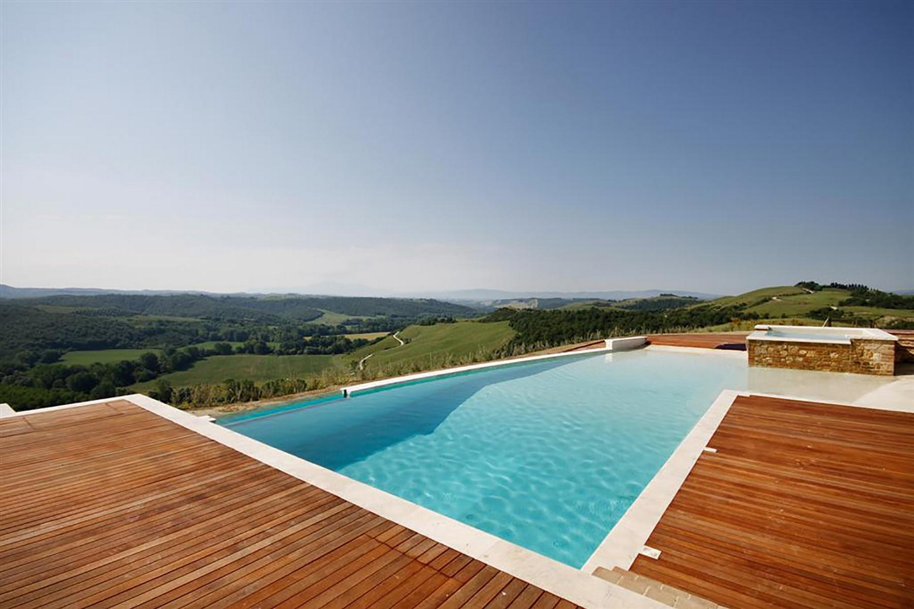 Unique countryhouse  with breath taking views of the Crete Senesi - 3
