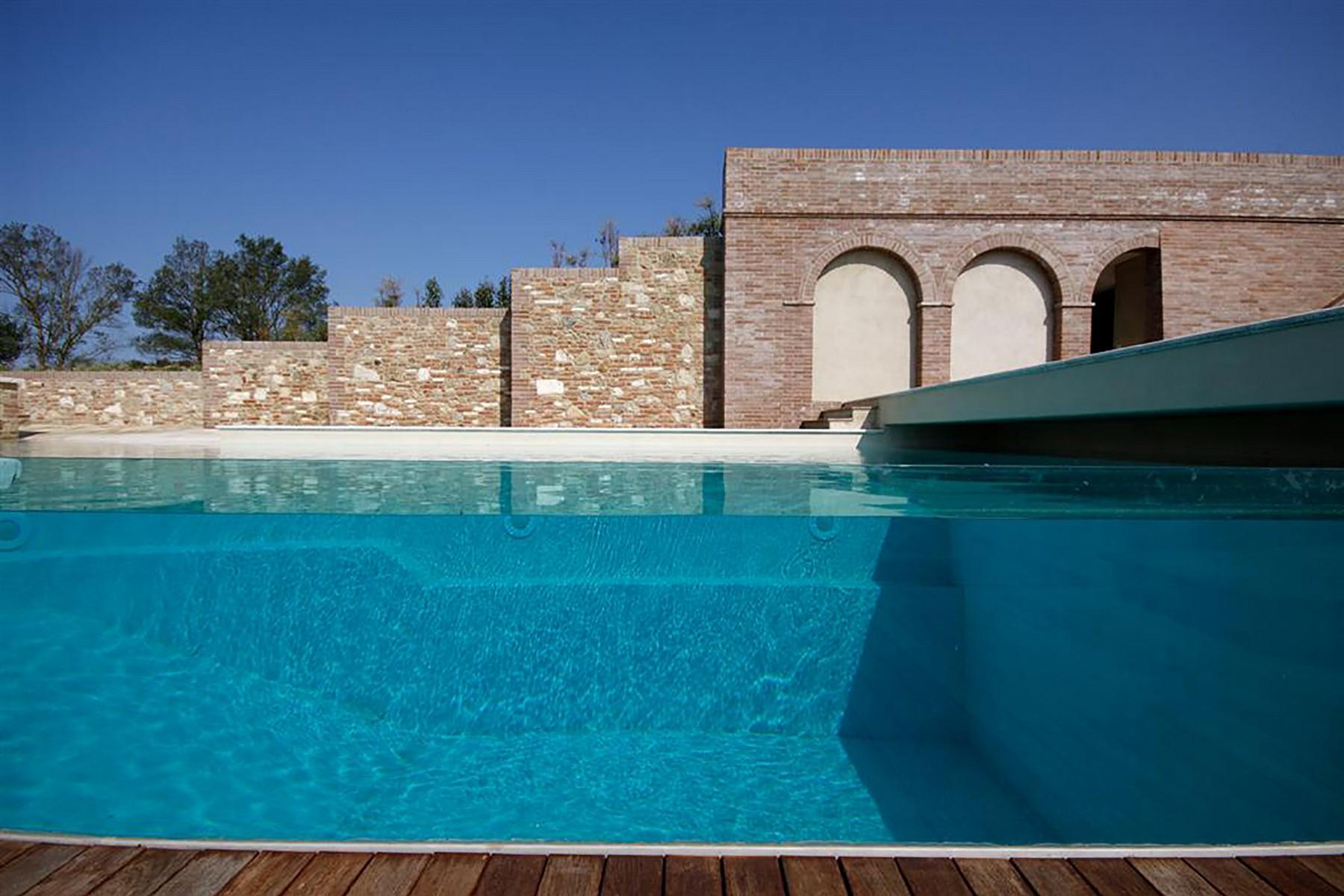 Unique countryhouse  with breath taking views of the Crete Senesi - 4