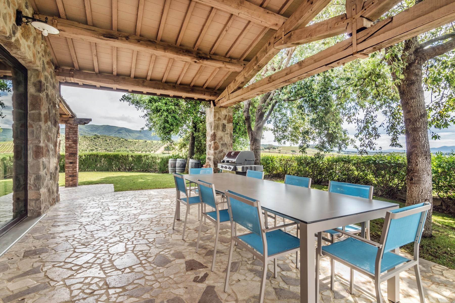 Inspiring tuscan estate with vineyards - 24