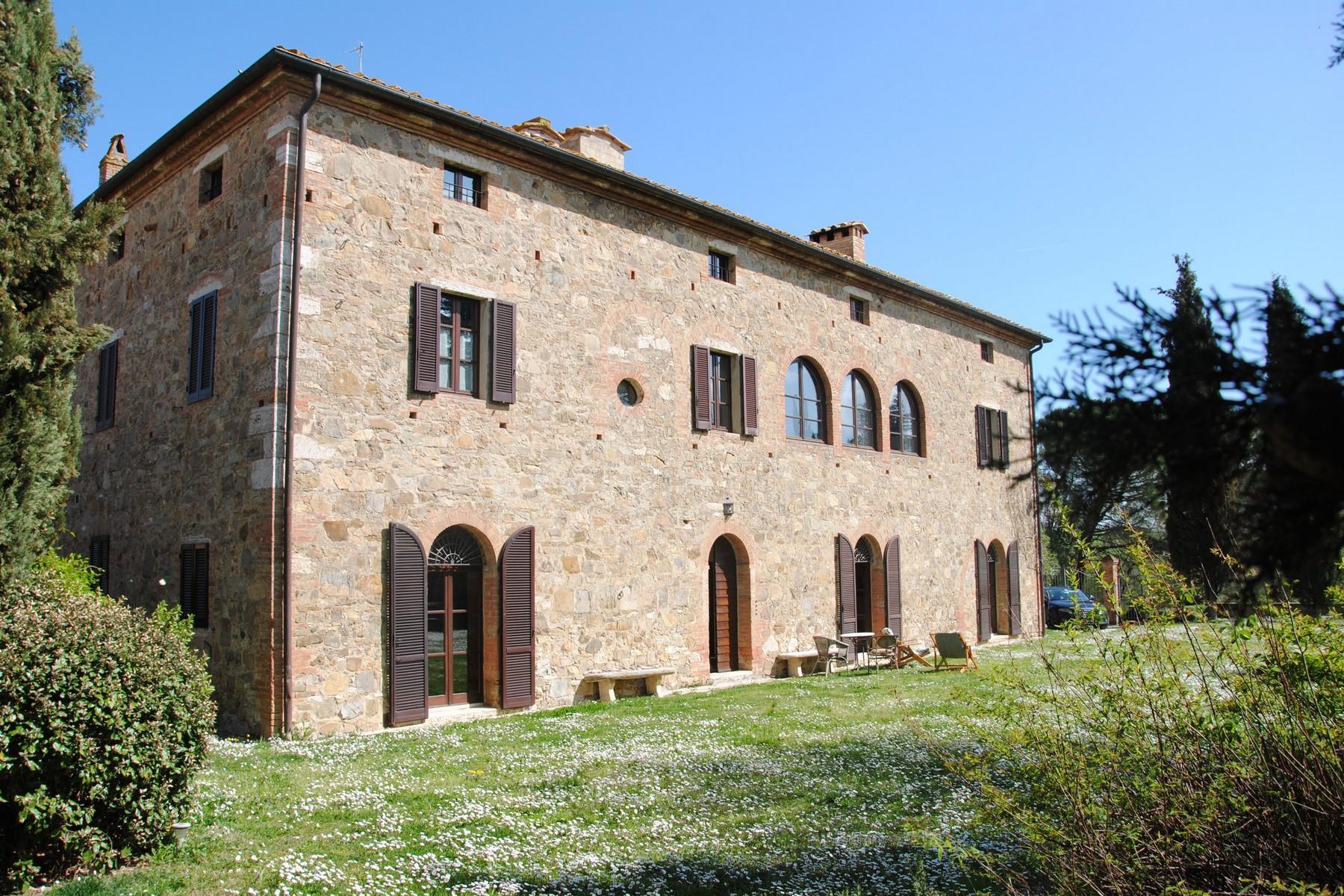 Прекрасное поместье XVI века на тосканских холмах. Италия - 2