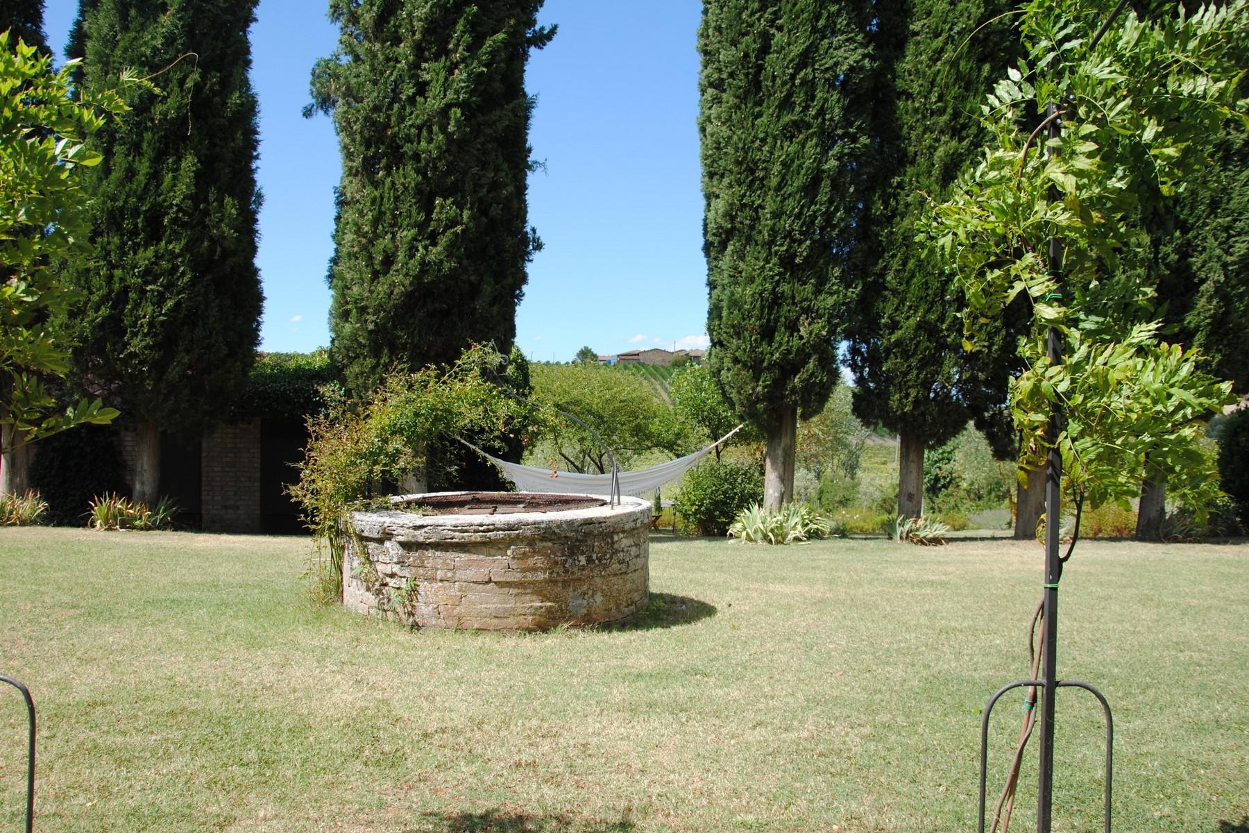 Прекрасное поместье XVI века на тосканских холмах. Италия - 5