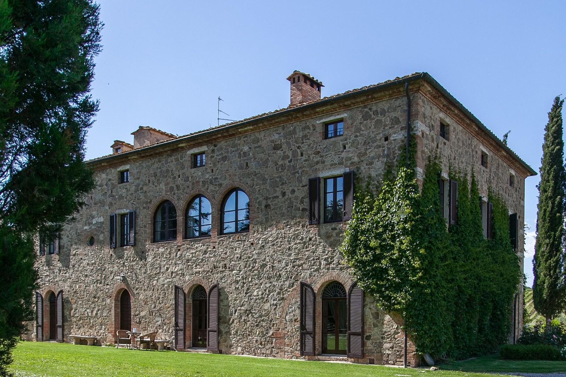 Прекрасное поместье XVI века на тосканских холмах. Италия - 4