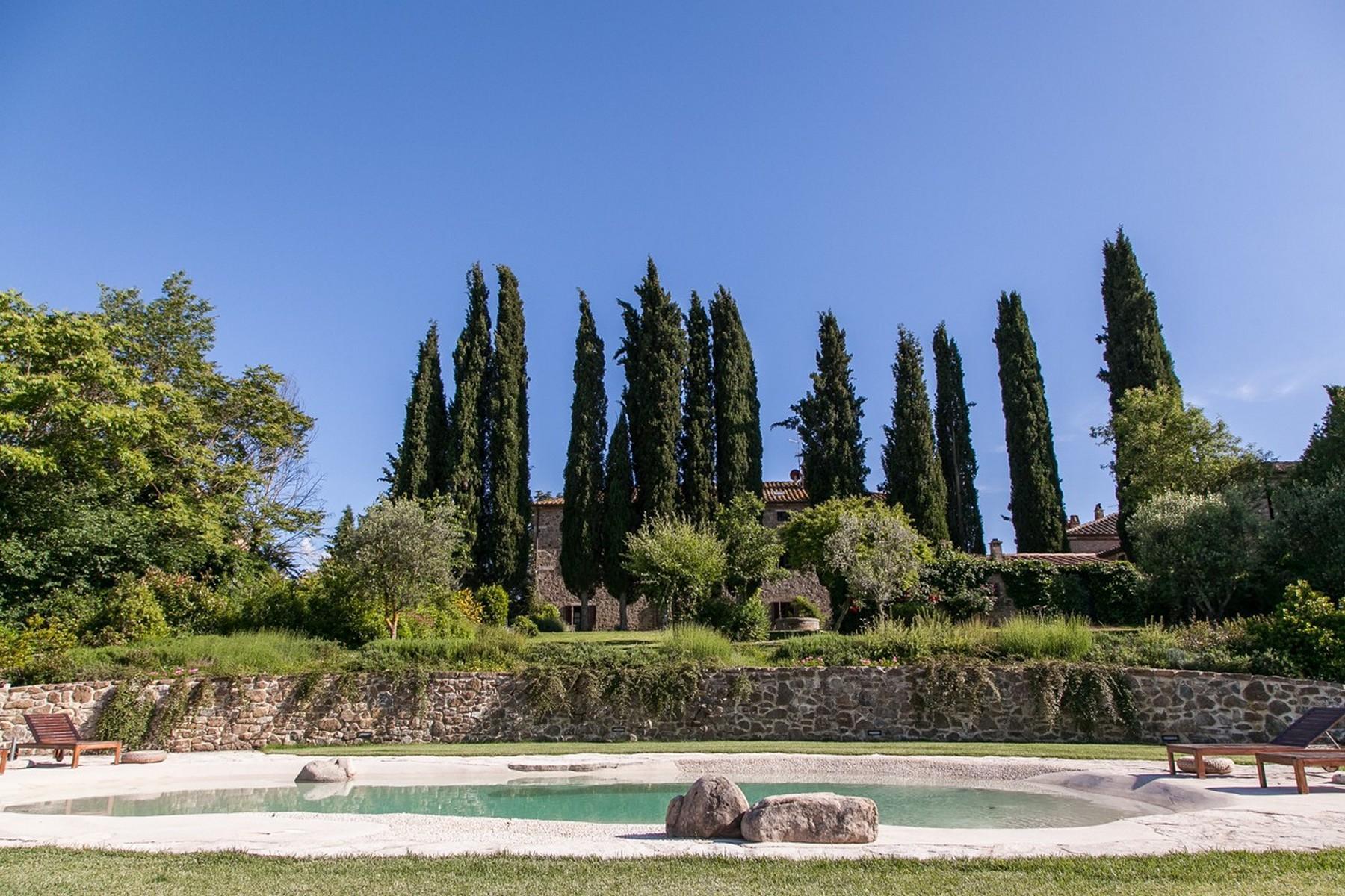 Прекрасное поместье XVI века на тосканских холмах. Италия - 6