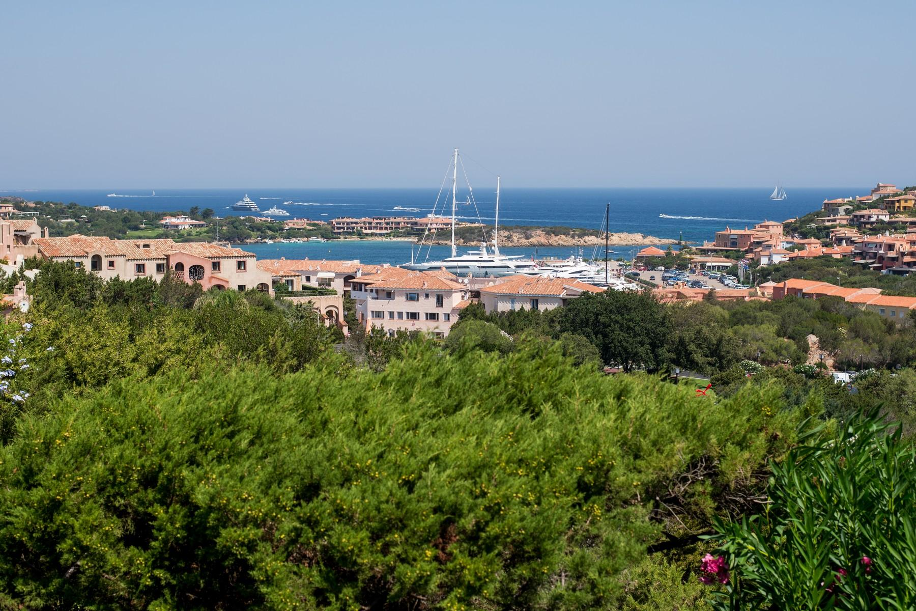 Porto Cervo Centro Замечательный таунхаус с видом на море и центр Порто Черво, Сардиния, Италия - 14