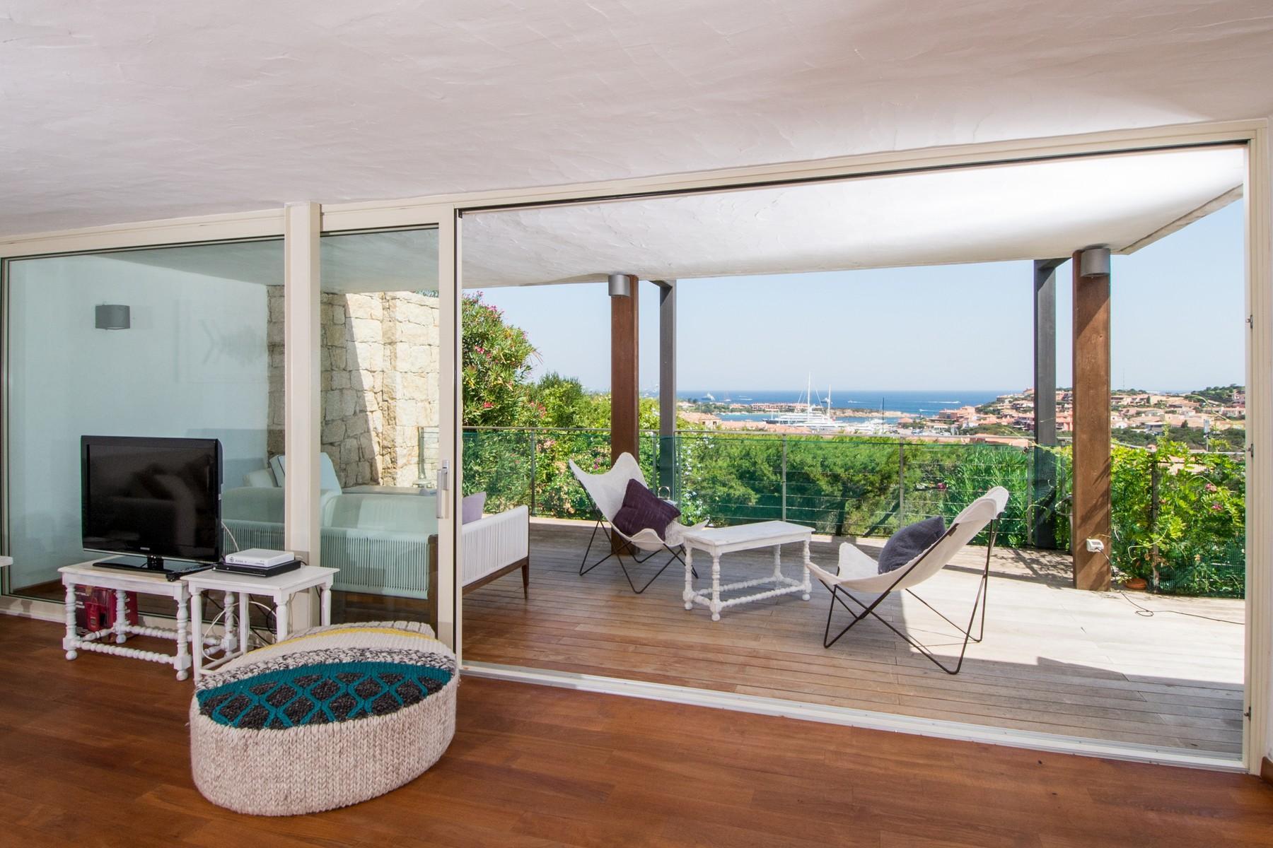 Porto Cervo Centro Замечательный таунхаус с видом на море и центр Порто Черво, Сардиния, Италия - 1