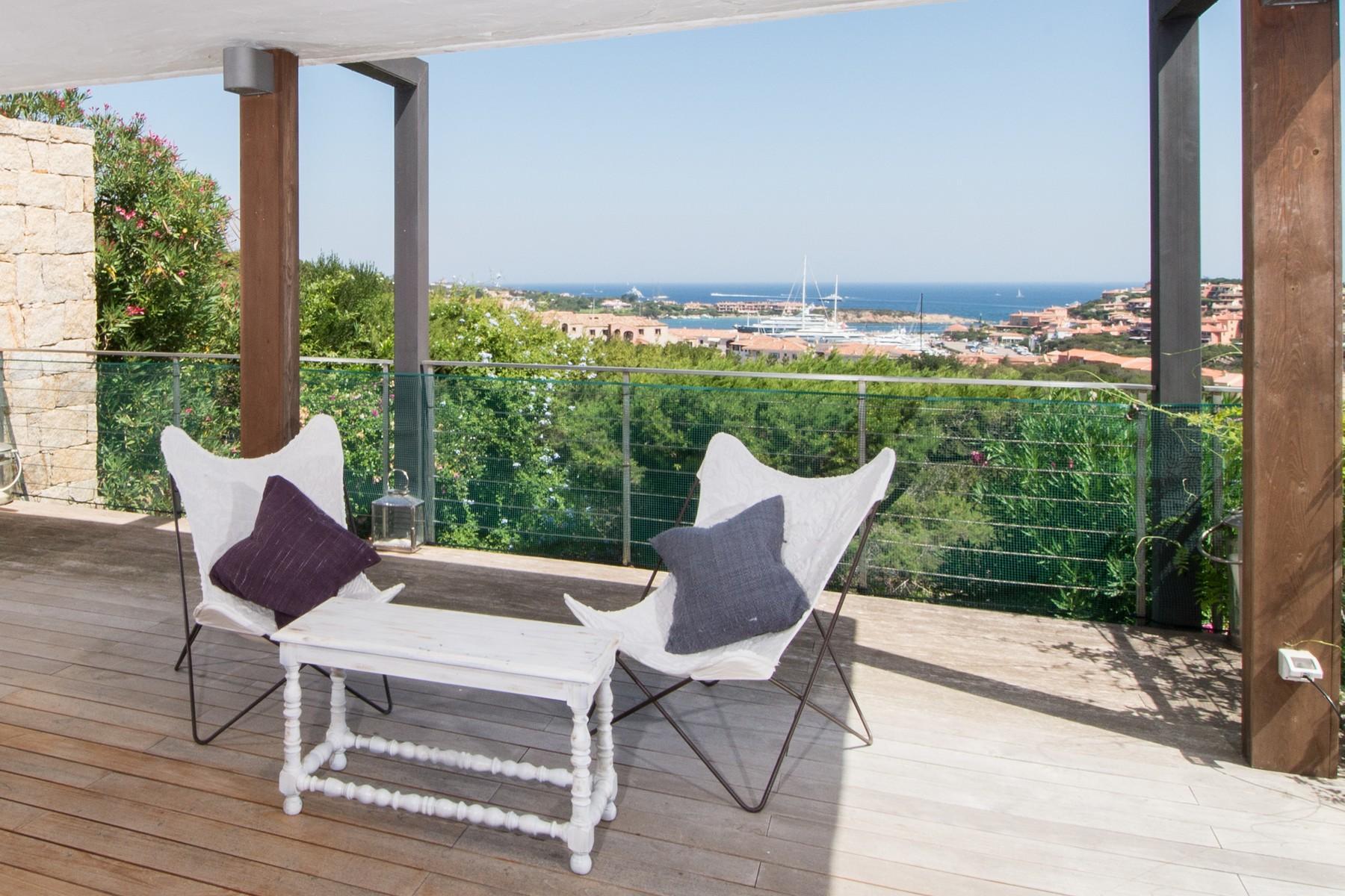 Porto Cervo Centro Замечательный таунхаус с видом на море и центр Порто Черво, Сардиния, Италия - 4