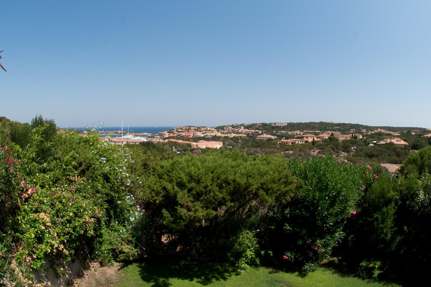 Porto Cervo Centro Замечательный таунхаус с видом на море и центр Порто Черво, Сардиния, Италия - 16