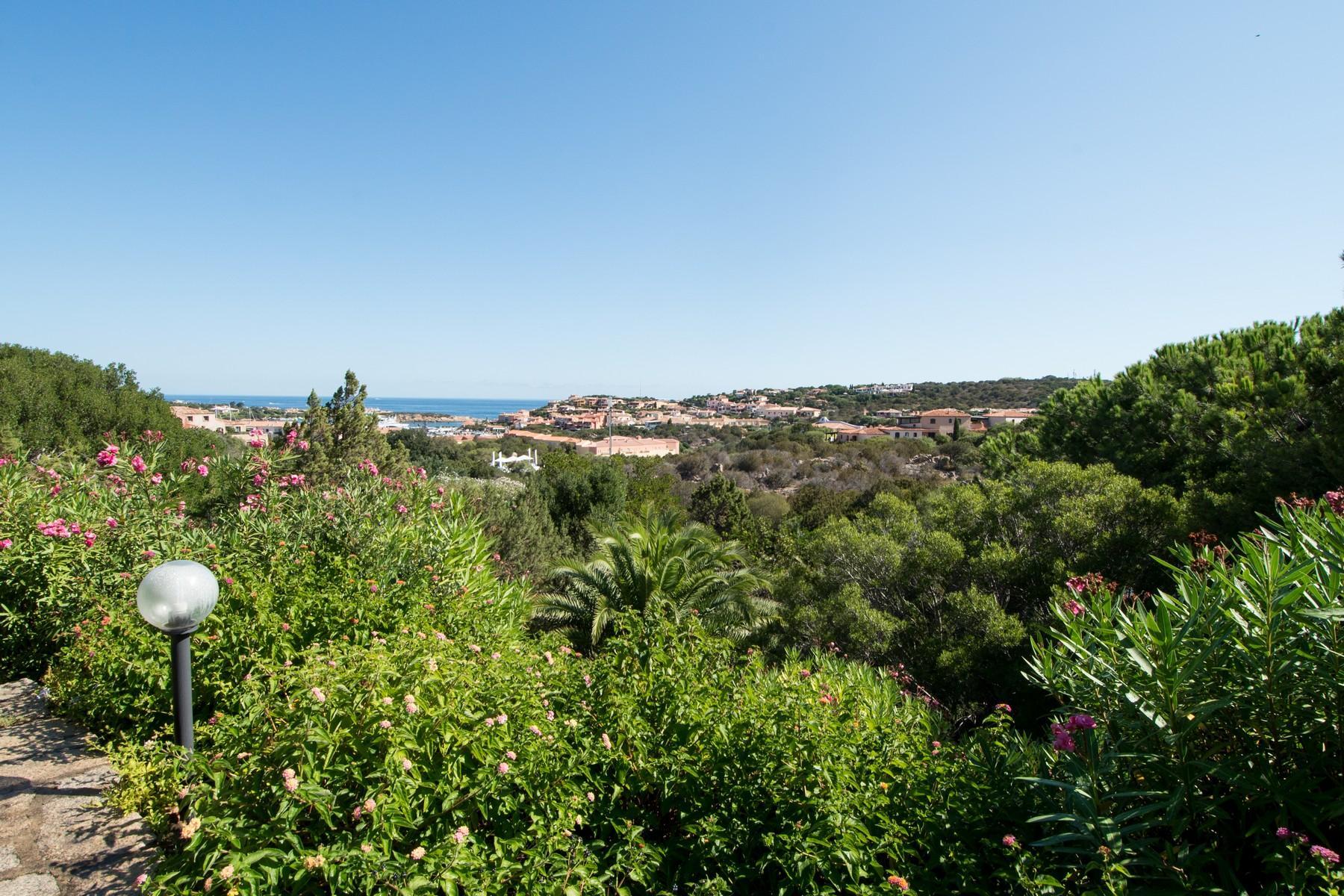 Porto Cervo Centro Замечательный таунхаус с видом на море и центр Порто Черво, Сардиния, Италия - 17