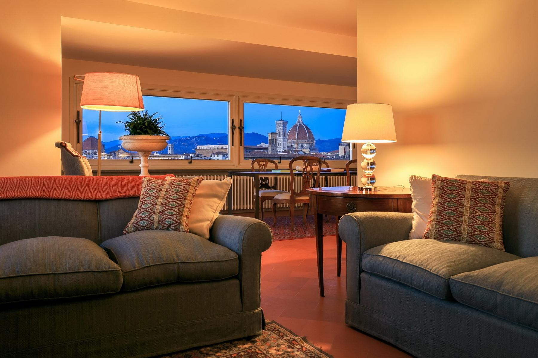 Stunning apartment with breathtaking view on Florence - 2