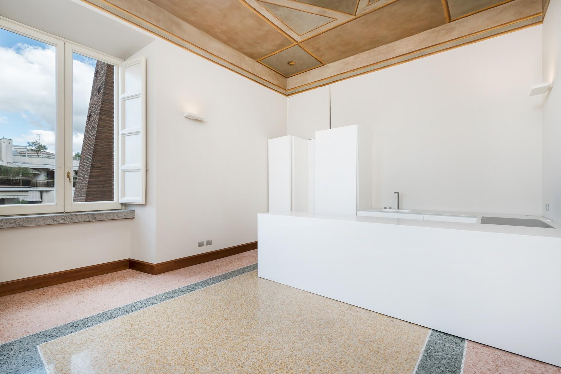 位于著名的Brasini别墅内的优雅的公寓 - 13