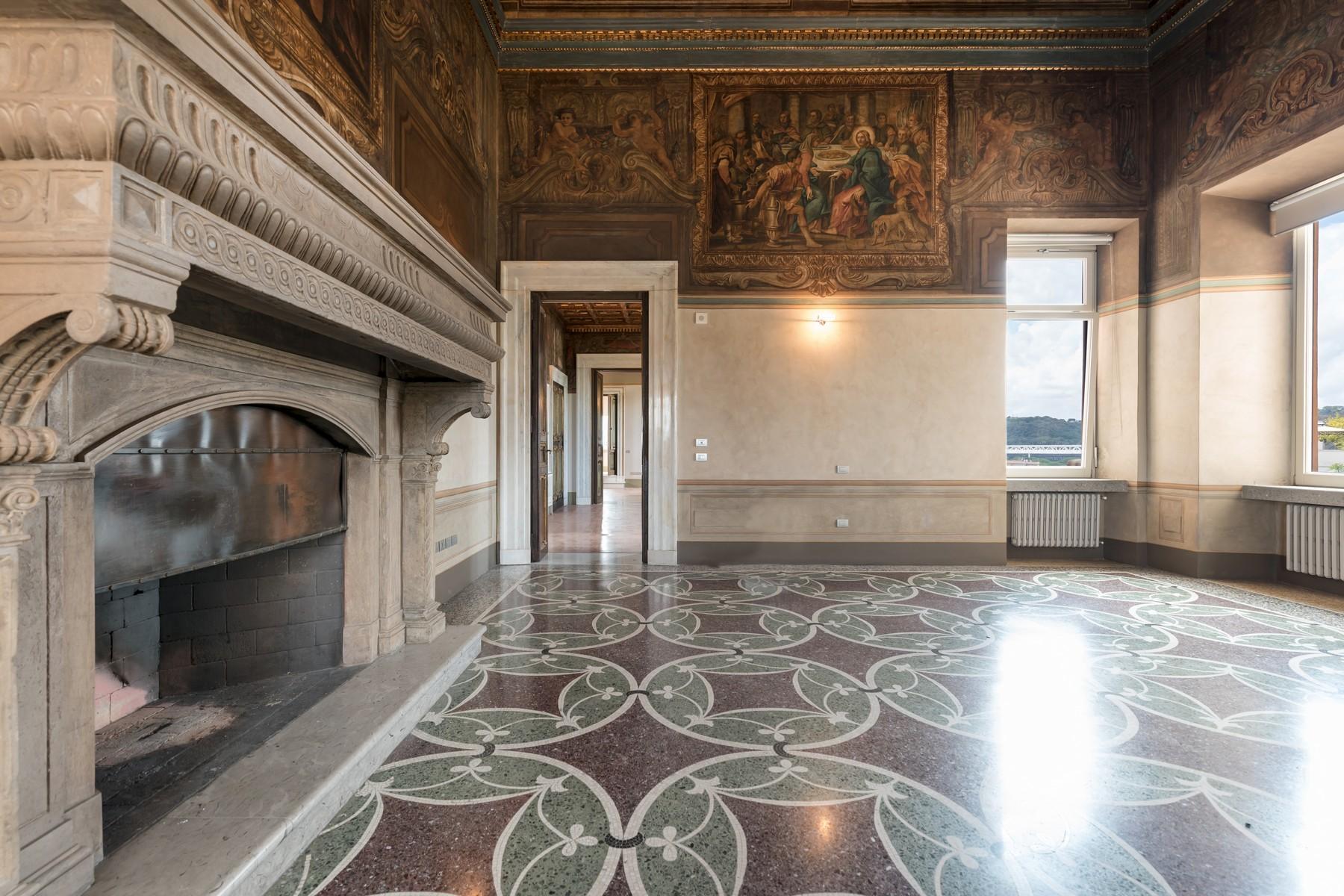 Prestigioso appartamento di rappresentanza all'interno di Villa Brasini - 2