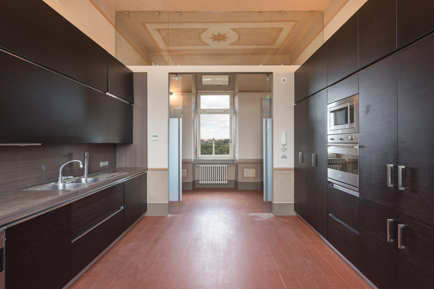 位于著名的Brasini别墅内的公寓 - 19
