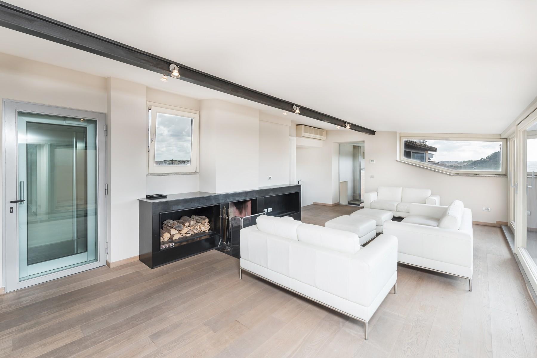 Luxury penthouse inside Villa Brasini with stunning views - 13