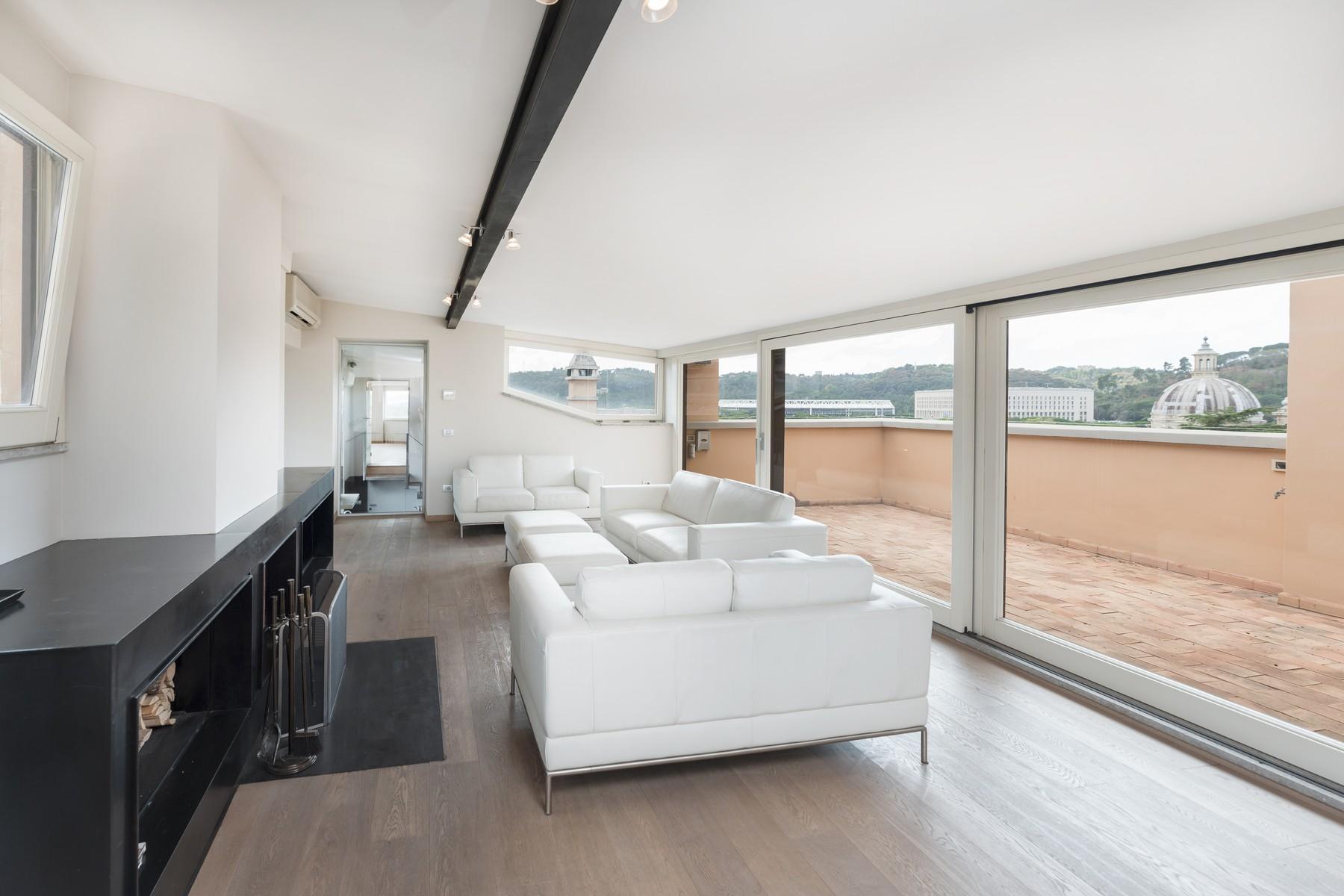 Luxury penthouse inside Villa Brasini with stunning views - 2