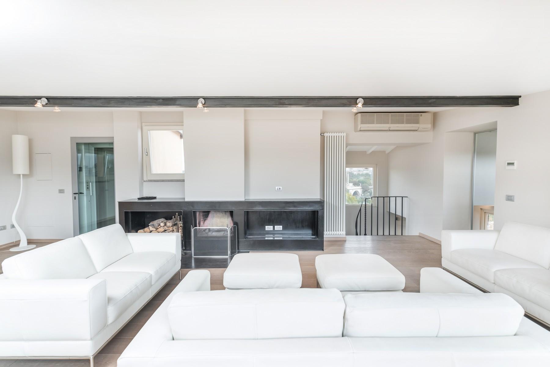 Luxury penthouse inside Villa Brasini with stunning views - 1