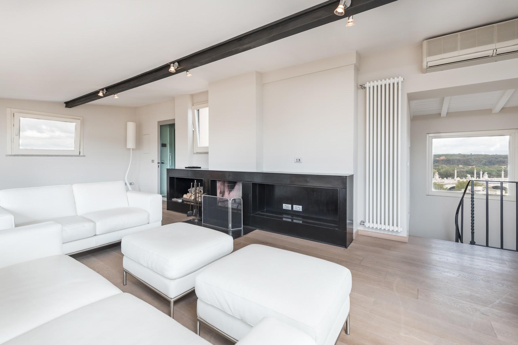 Luxury penthouse inside Villa Brasini with stunning views - 14