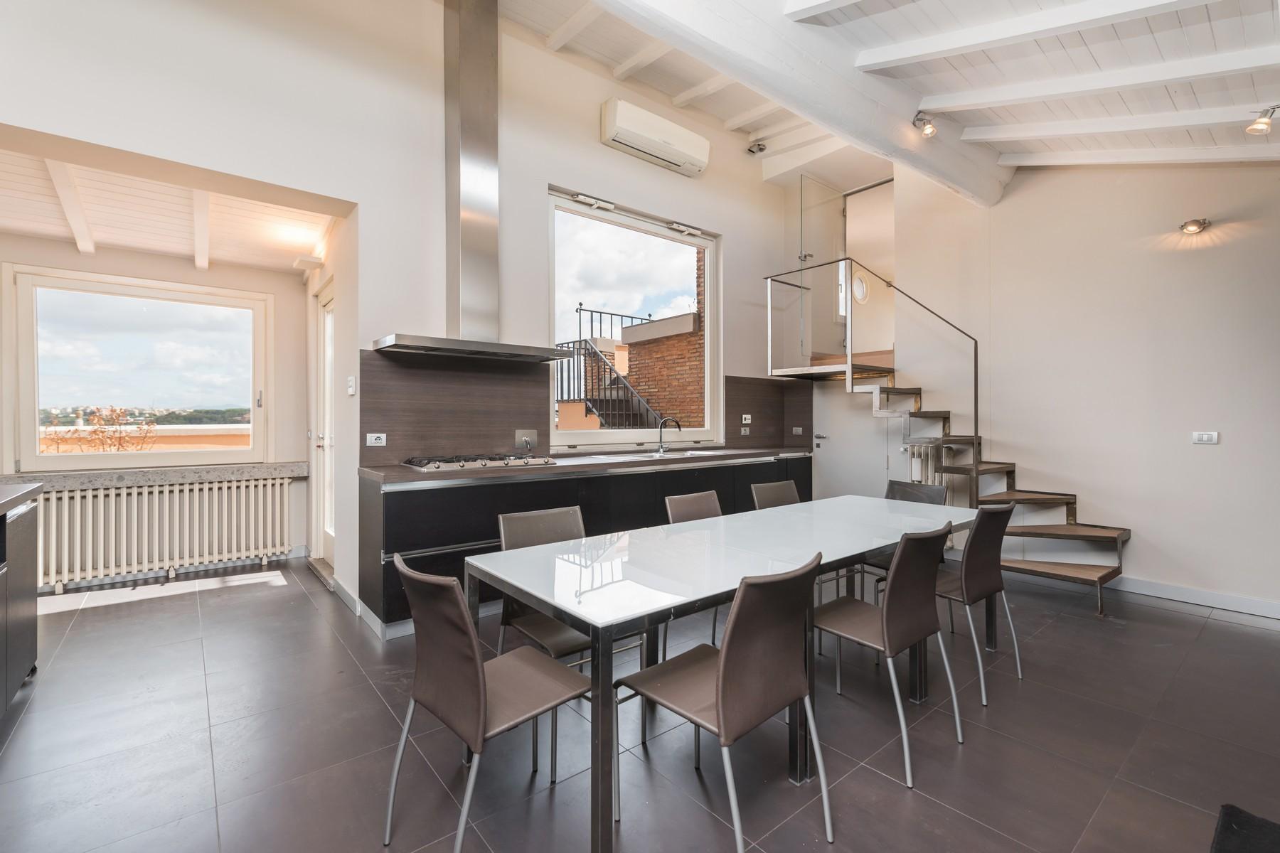 Luxury penthouse inside Villa Brasini with stunning views - 6