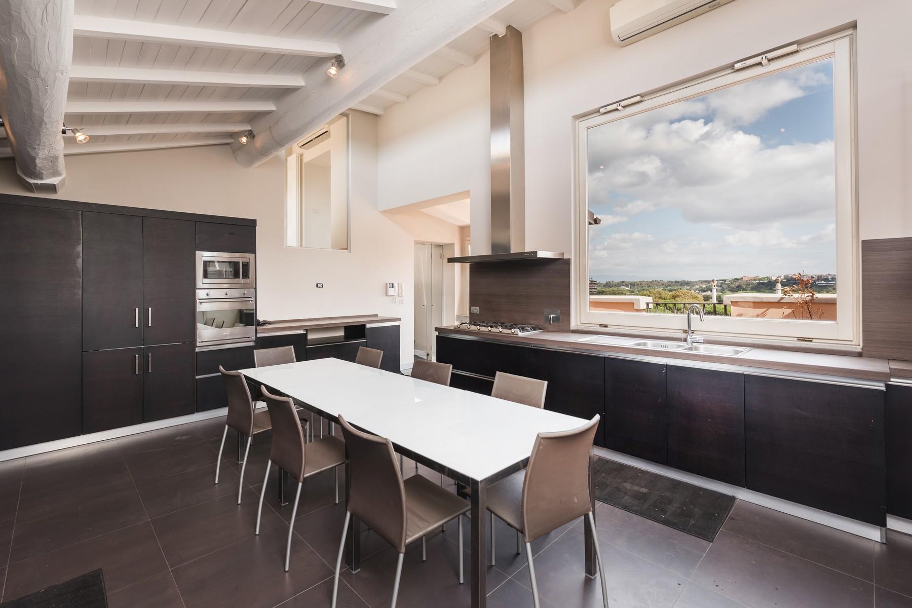 Luxury penthouse inside Villa Brasini with stunning views - 7