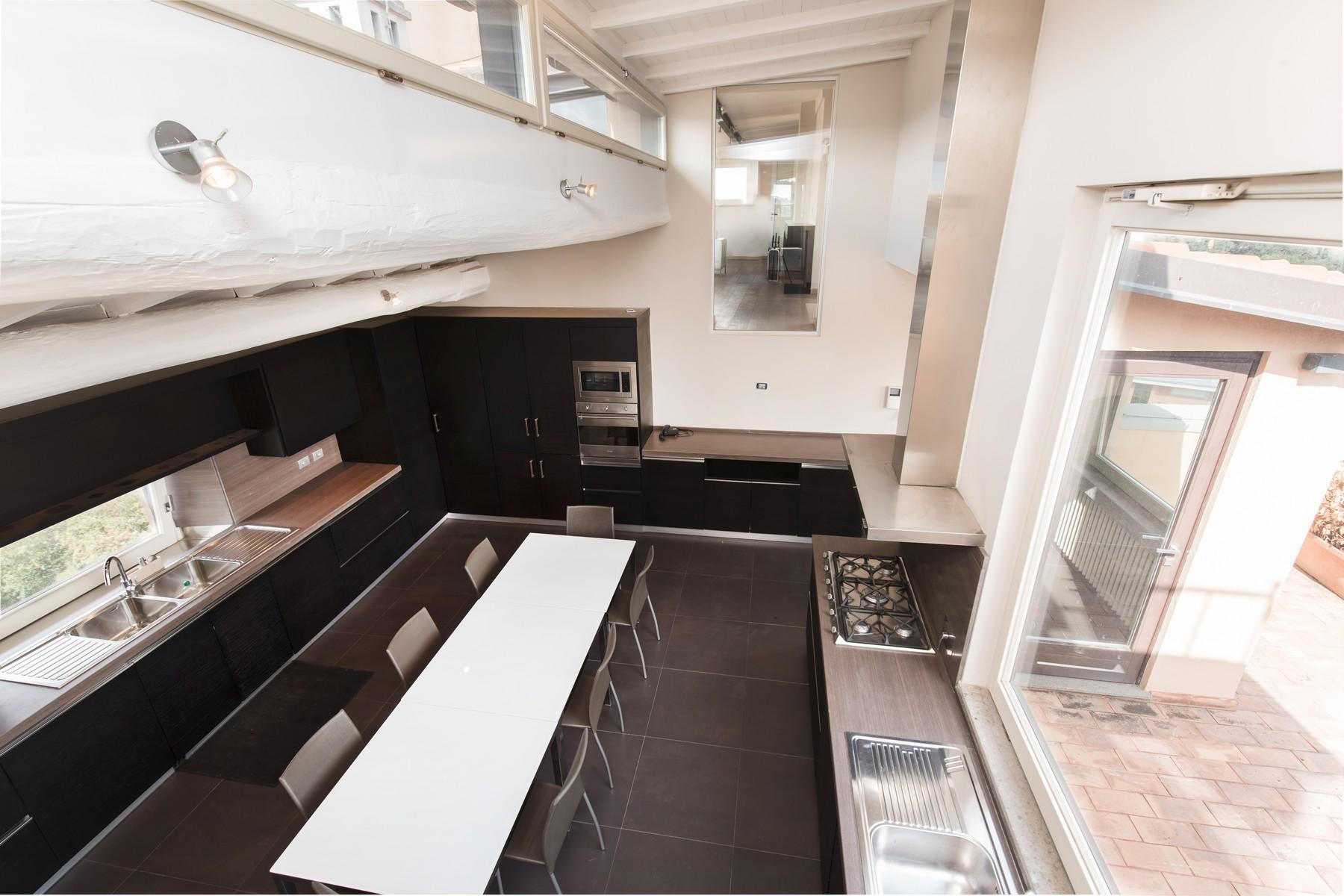 Luxury penthouse inside Villa Brasini with stunning views - 16
