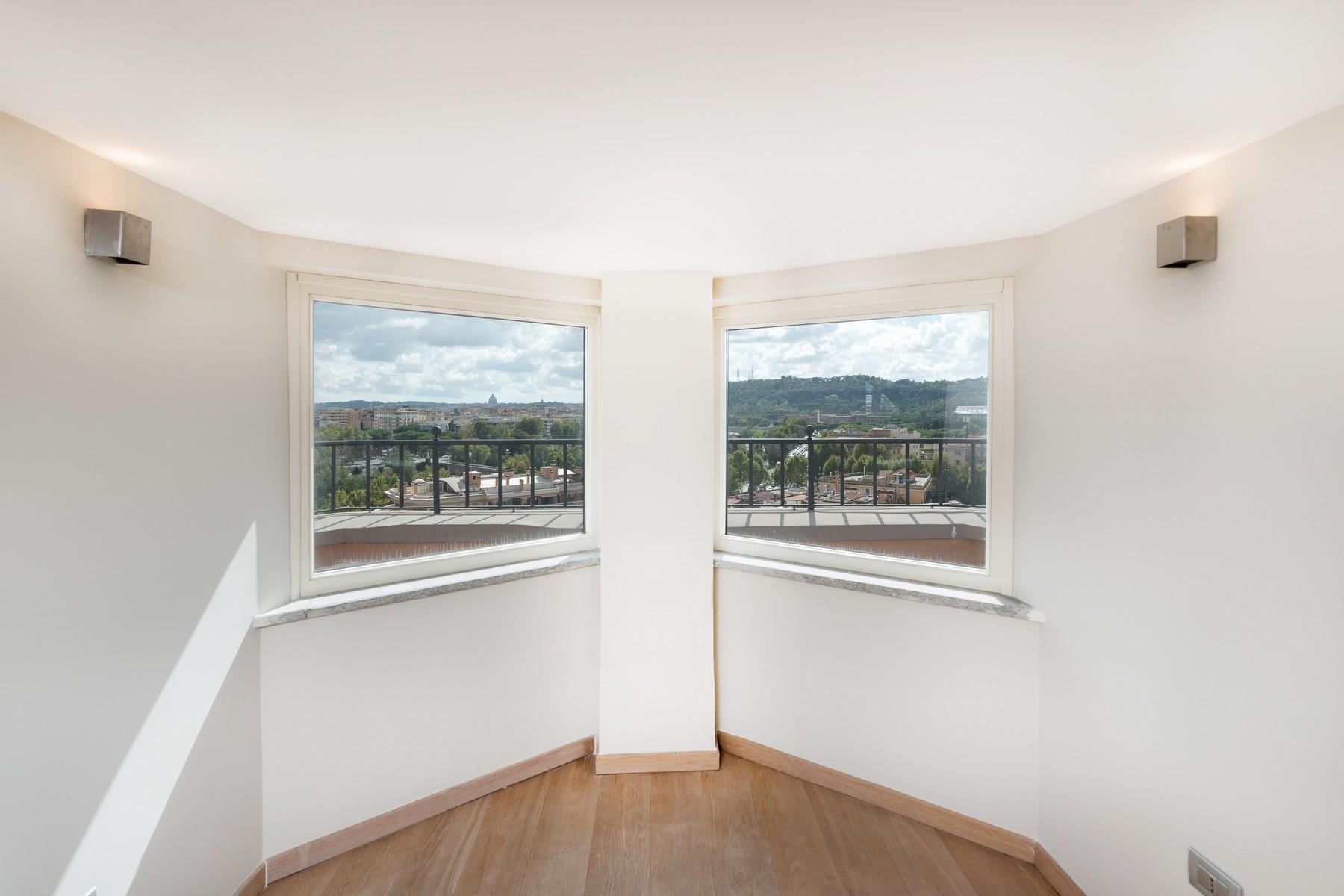 Luxury penthouse inside Villa Brasini with stunning views - 17