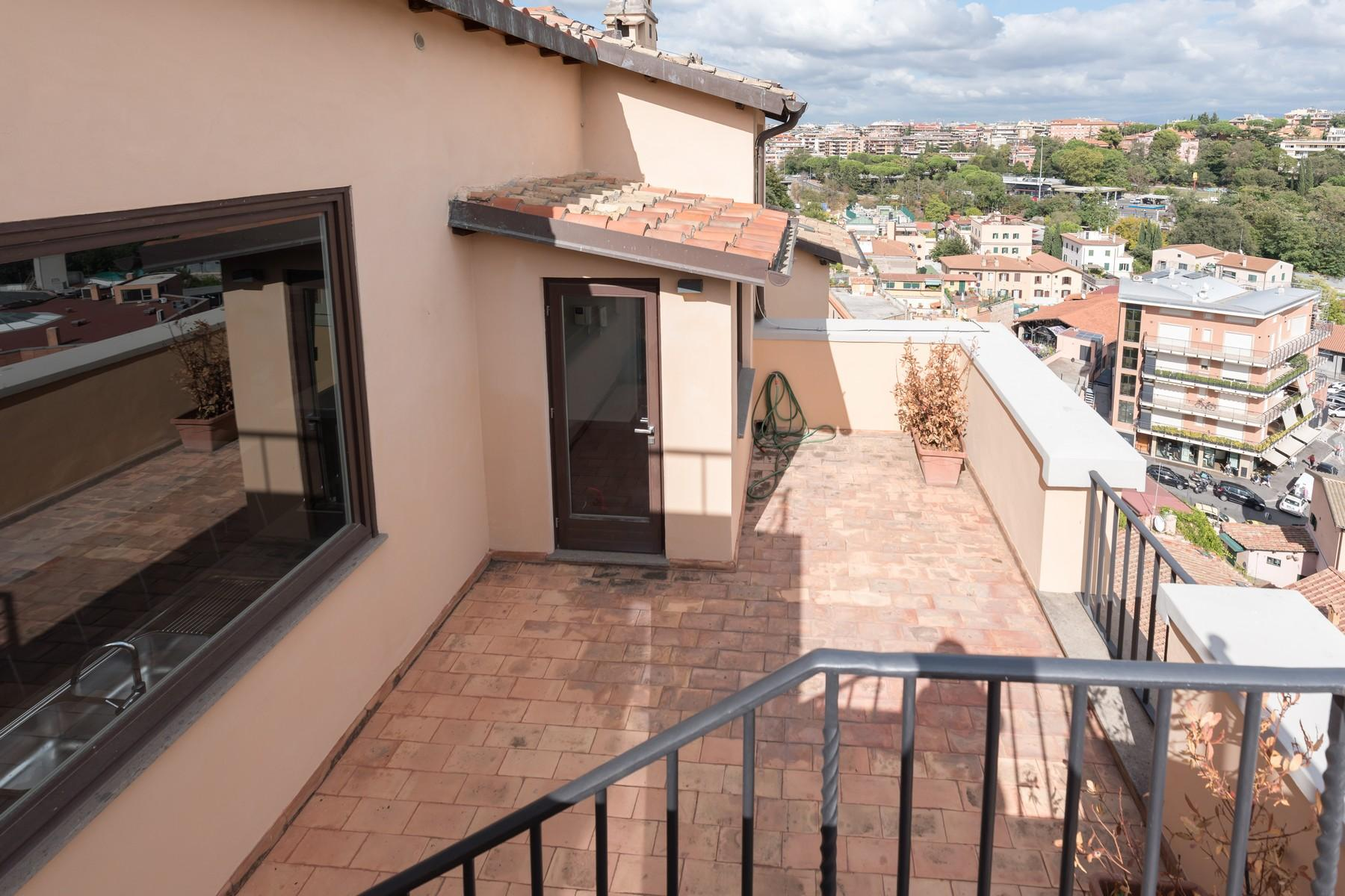 Luxury penthouse inside Villa Brasini with stunning views - 30