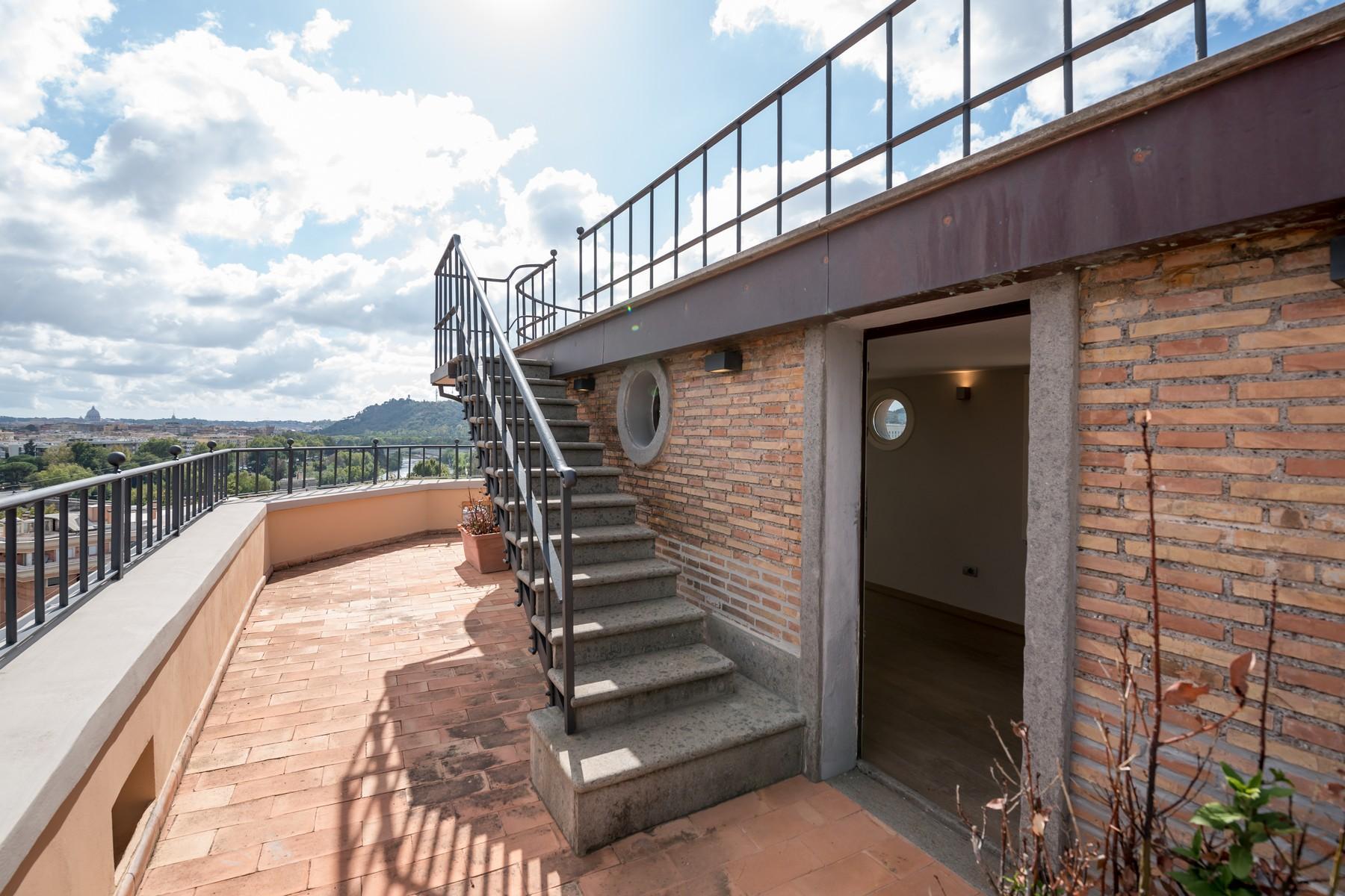 Luxury penthouse inside Villa Brasini with stunning views - 11