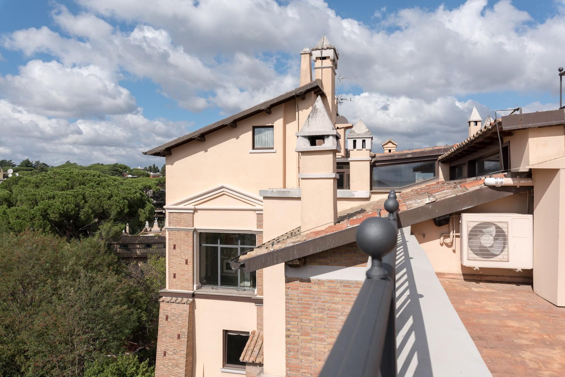 Luxury penthouse inside Villa Brasini with stunning views - 19