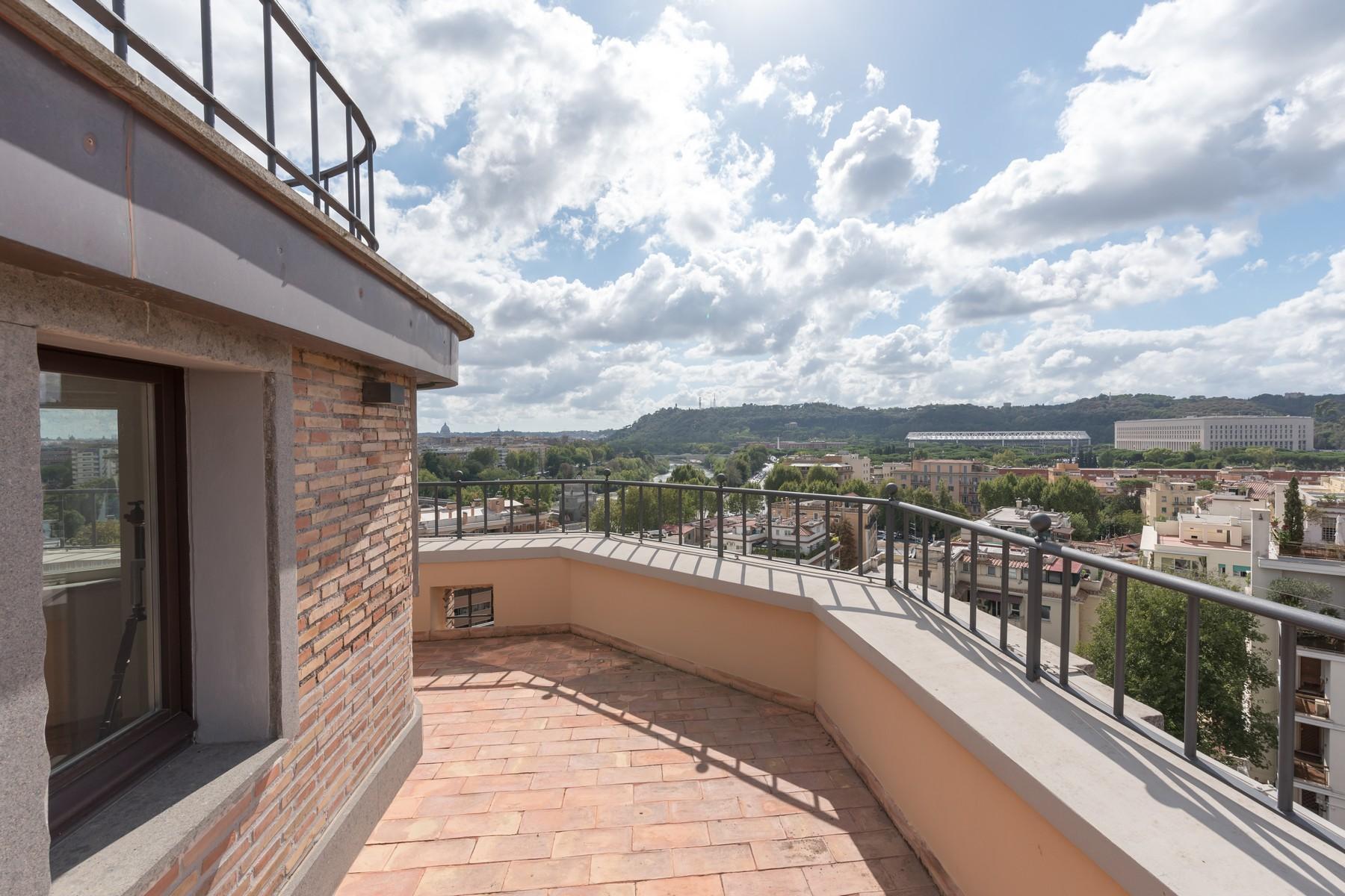 Luxury penthouse inside Villa Brasini with stunning views - 10