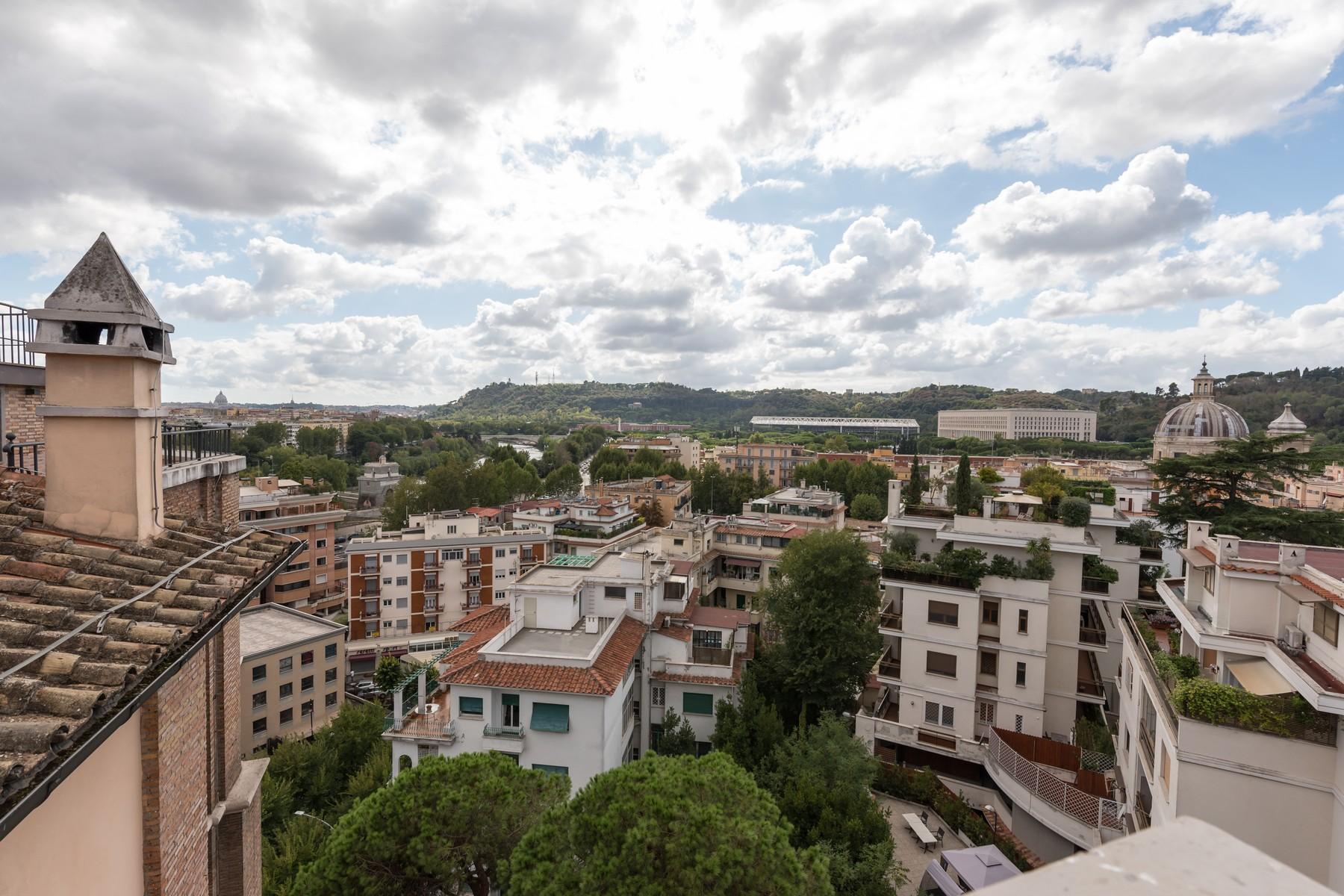 Luxury penthouse inside Villa Brasini with stunning views - 21