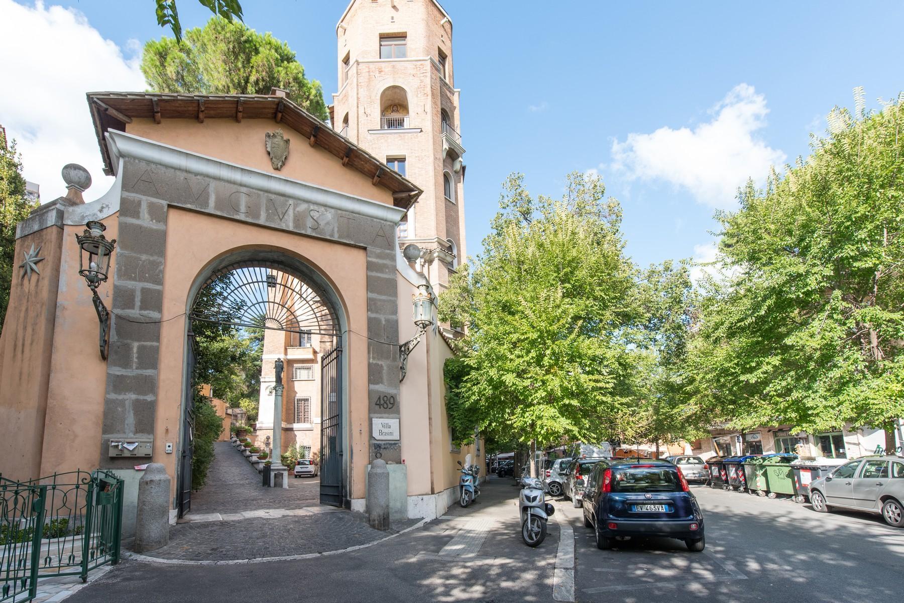 Luxury penthouse inside Villa Brasini with stunning views - 31