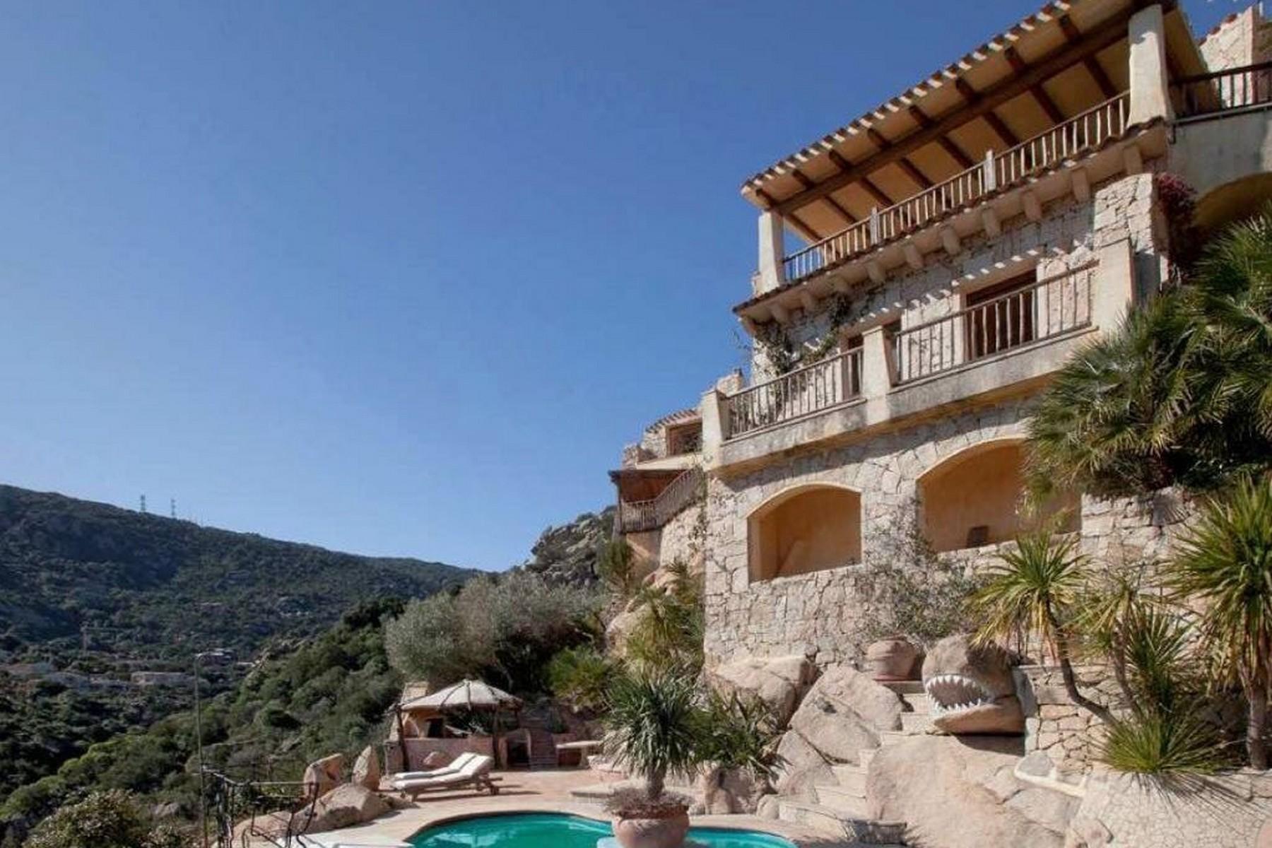Porto Cervo Pantogia Beautiful Villa on the Pantogia Hill - 25