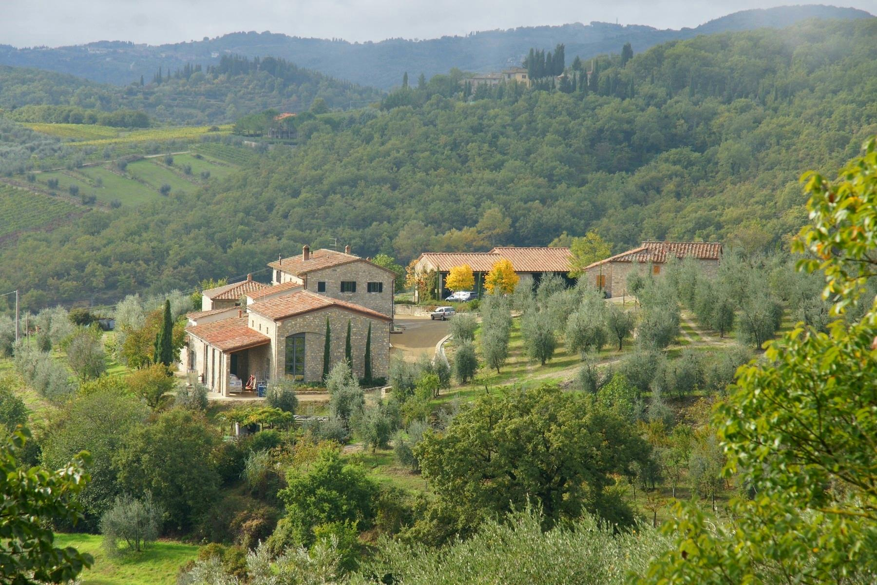 Residential property and boutique winery in the heart of Chianti - 4