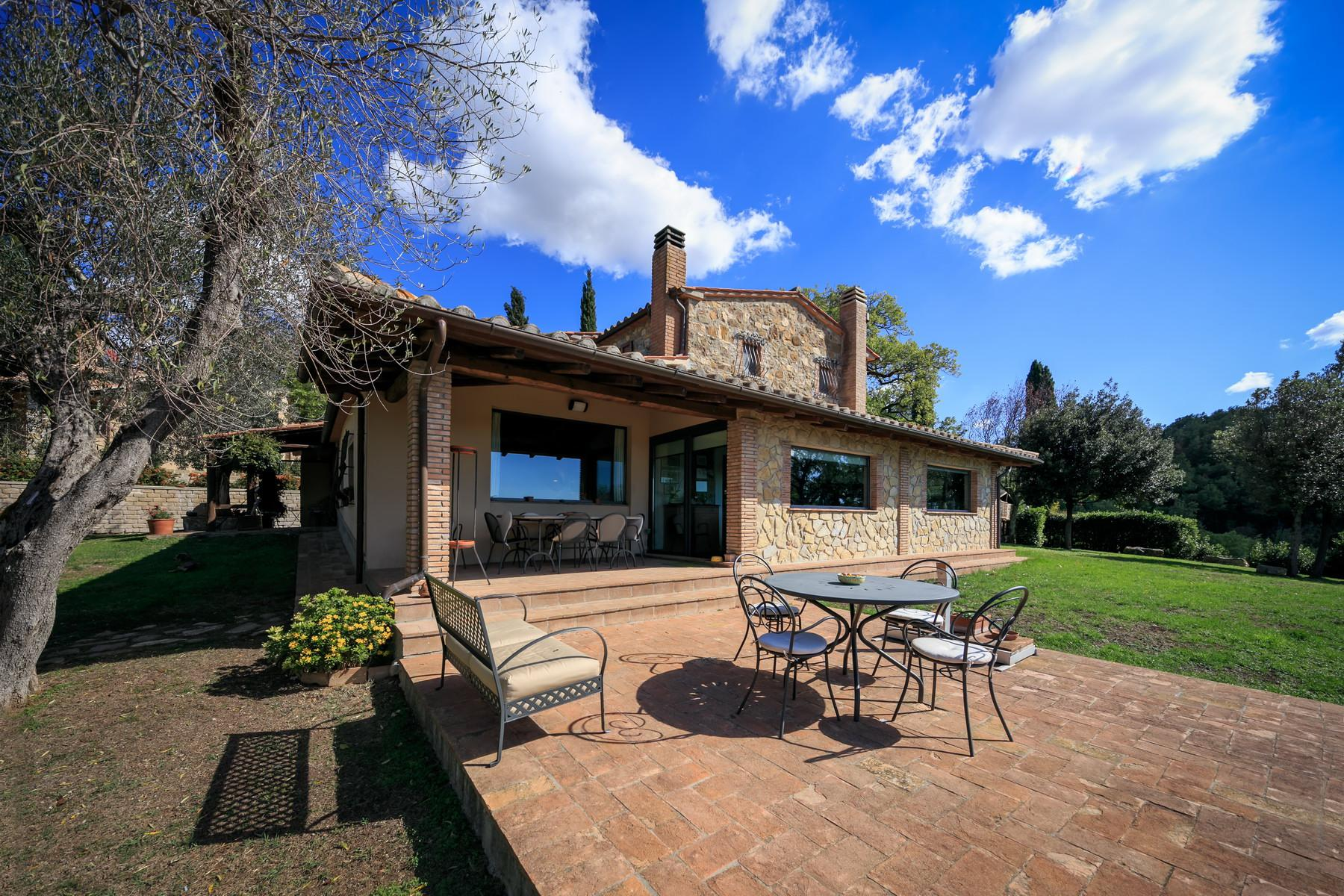 Farmhouse with outbuildingand pool with beautiful view over Saturnia and the surroundings - 5