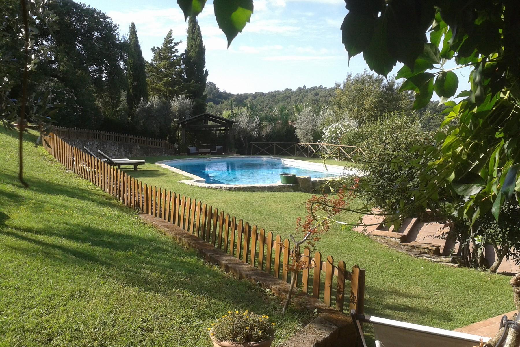 俯瞰Saturnia和周边优美景致的农舍且享有副楼 - 11