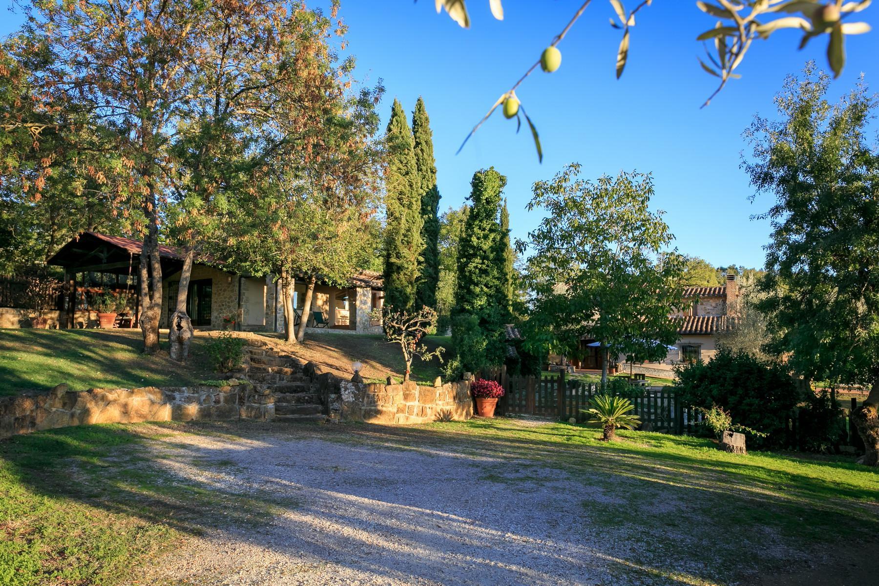 俯瞰Saturnia和周边优美景致的农舍且享有副楼 - 12