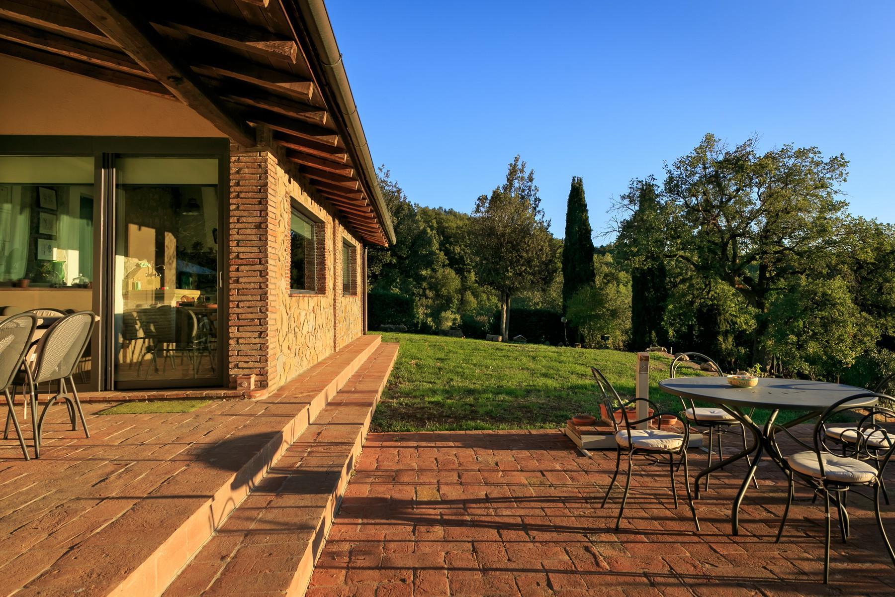 俯瞰Saturnia和周边优美景致的农舍且享有副楼 - 9