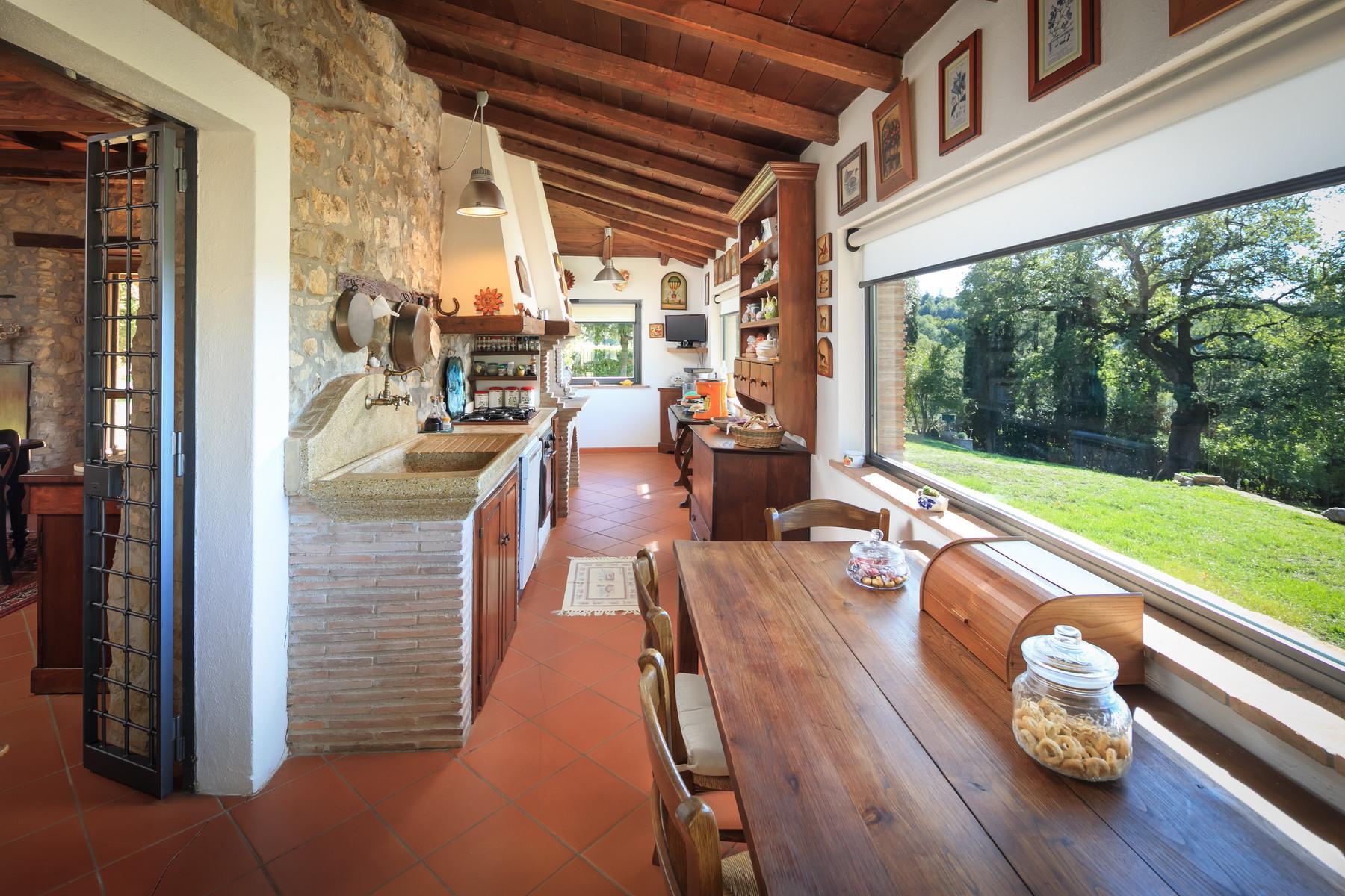 俯瞰Saturnia和周边优美景致的农舍且享有副楼 - 18