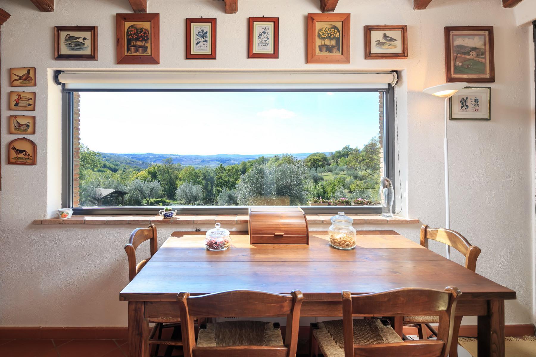 俯瞰Saturnia和周边优美景致的农舍且享有副楼 - 19