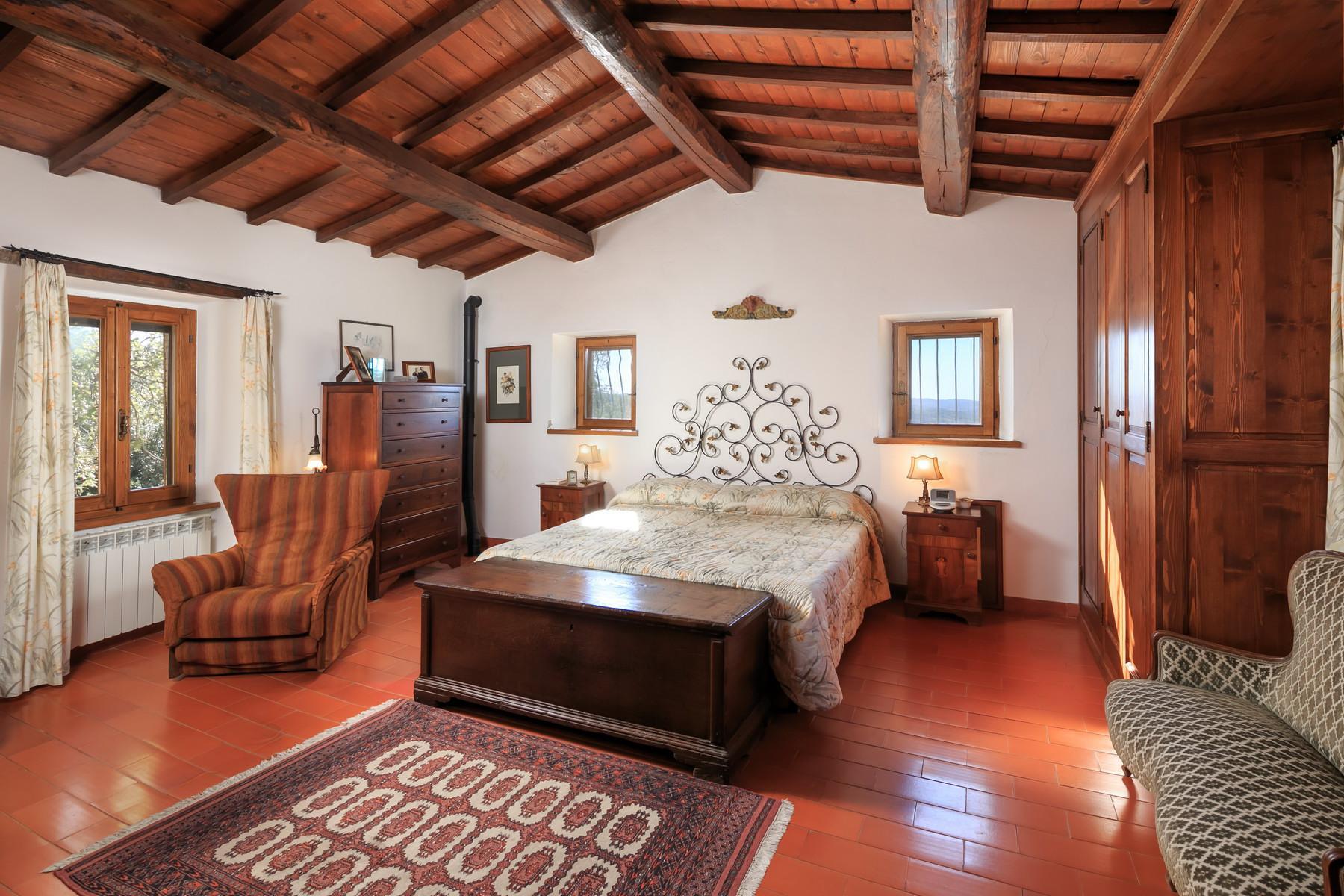 俯瞰Saturnia和周边优美景致的农舍且享有副楼 - 20
