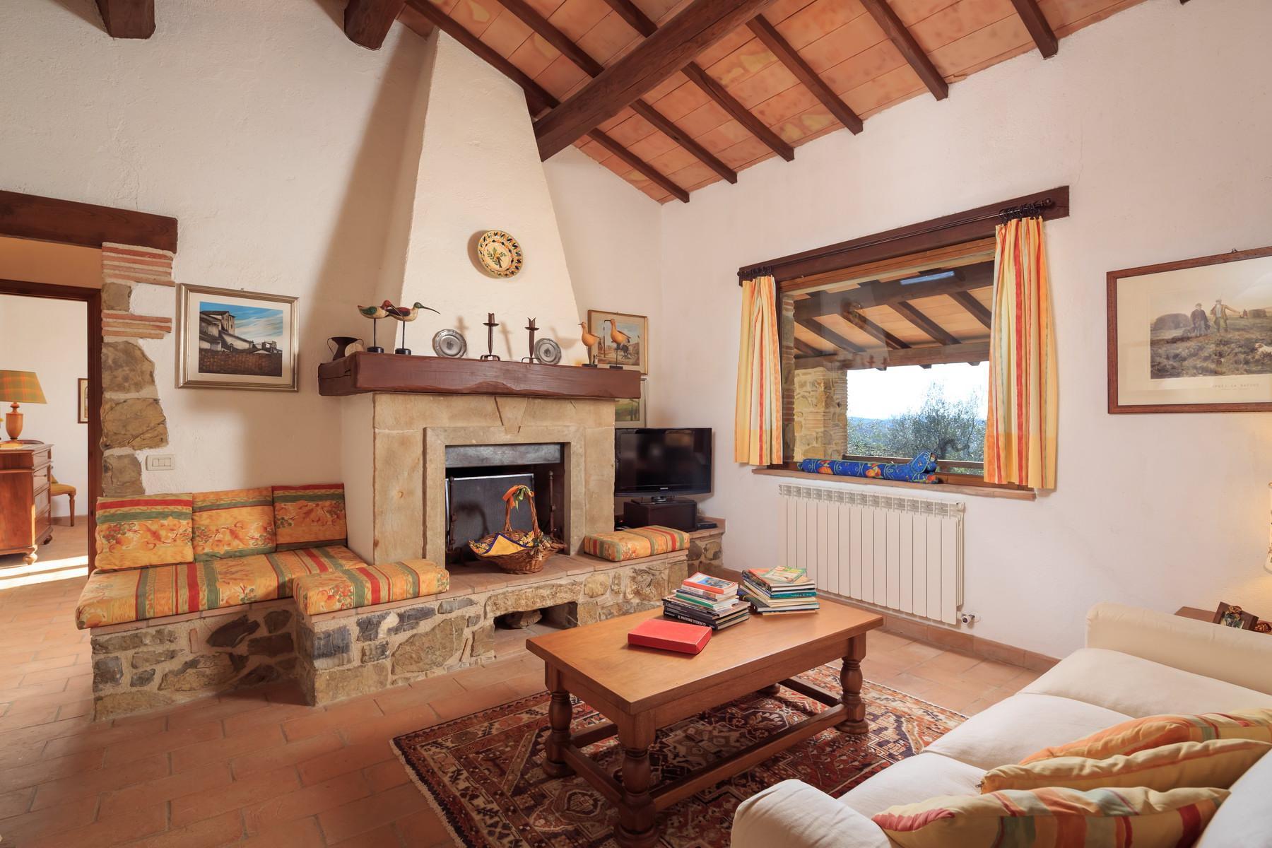俯瞰Saturnia和周边优美景致的农舍且享有副楼 - 23