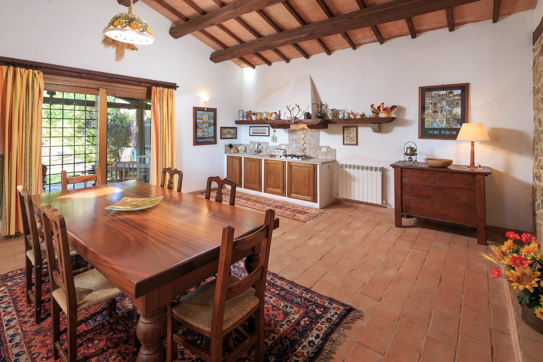 俯瞰Saturnia和周边优美景致的农舍且享有副楼 - 25