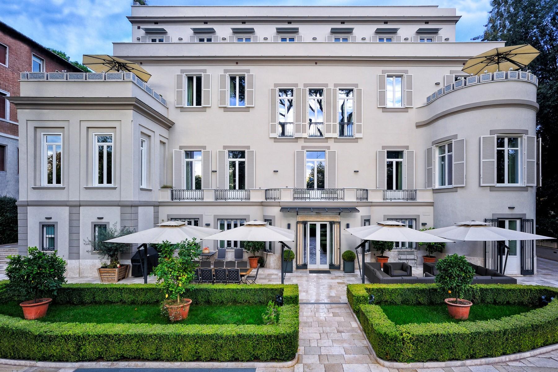 绿色罗马市中心内富有格调和风格的别墅 - 2