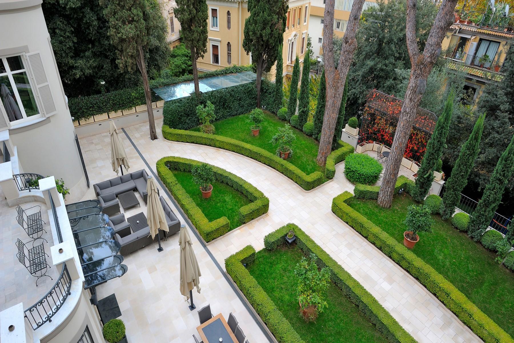 绿色罗马市中心内富有格调和风格的别墅 - 3
