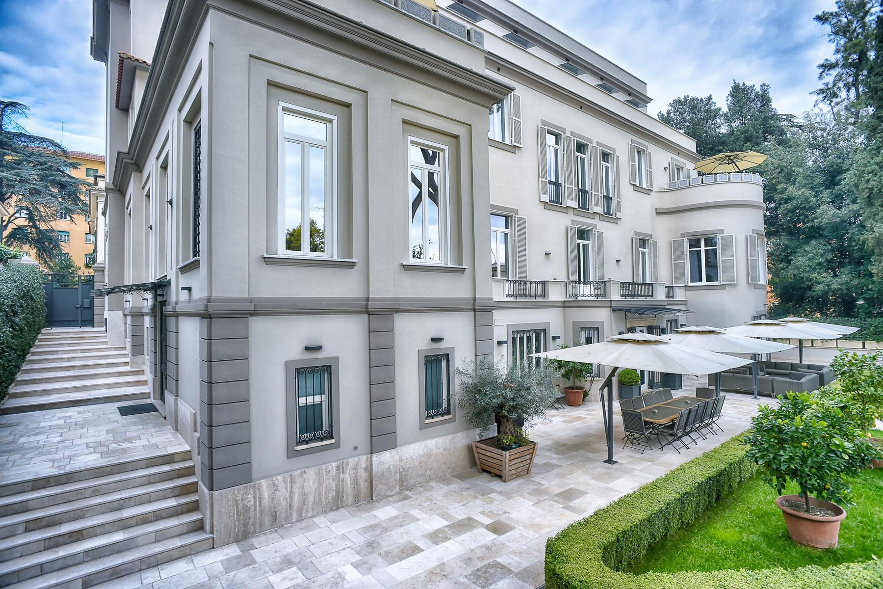 绿色罗马市中心内富有格调和风格的别墅 - 4