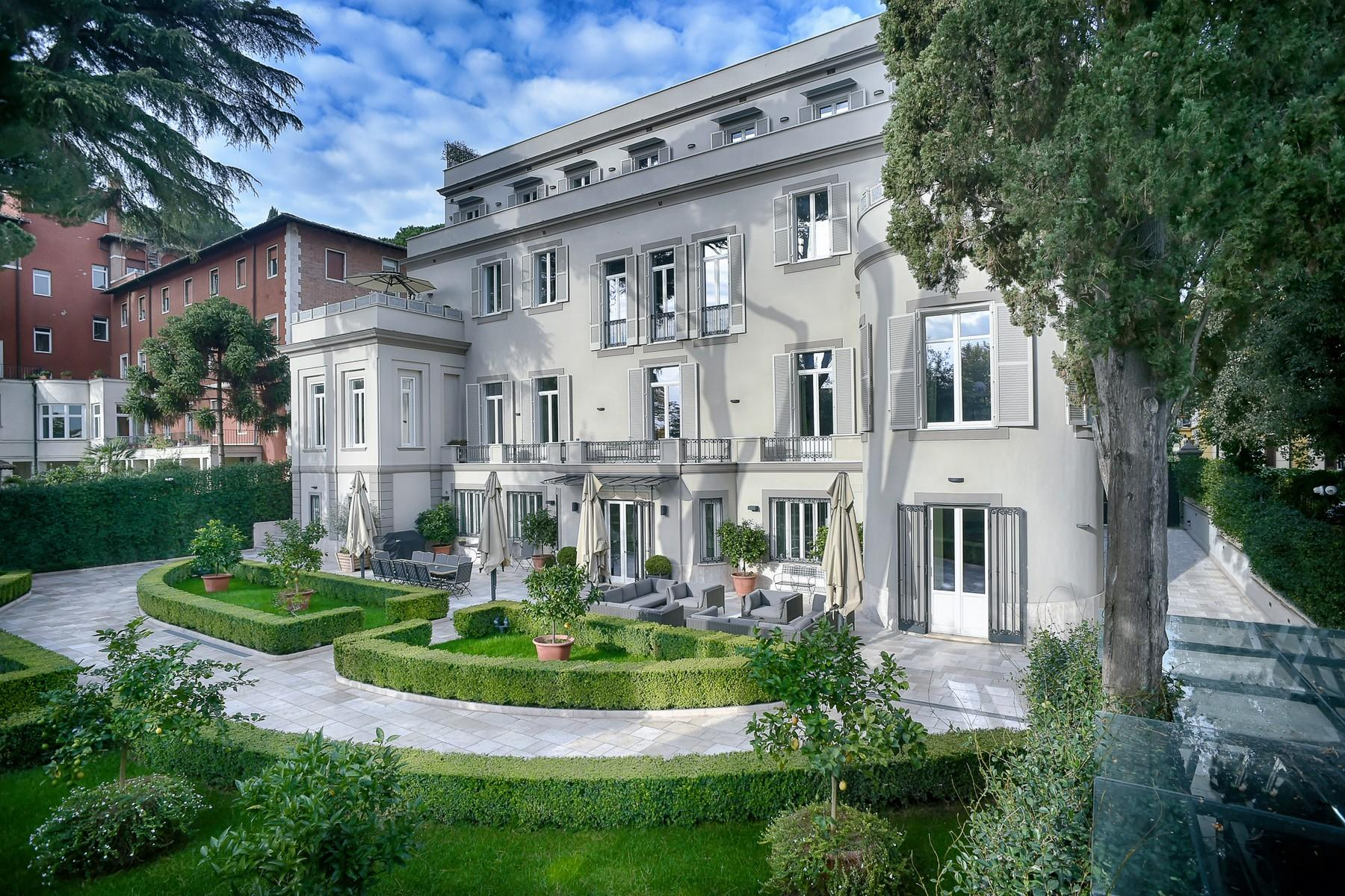 绿色罗马市中心内富有格调和风格的别墅 - 1