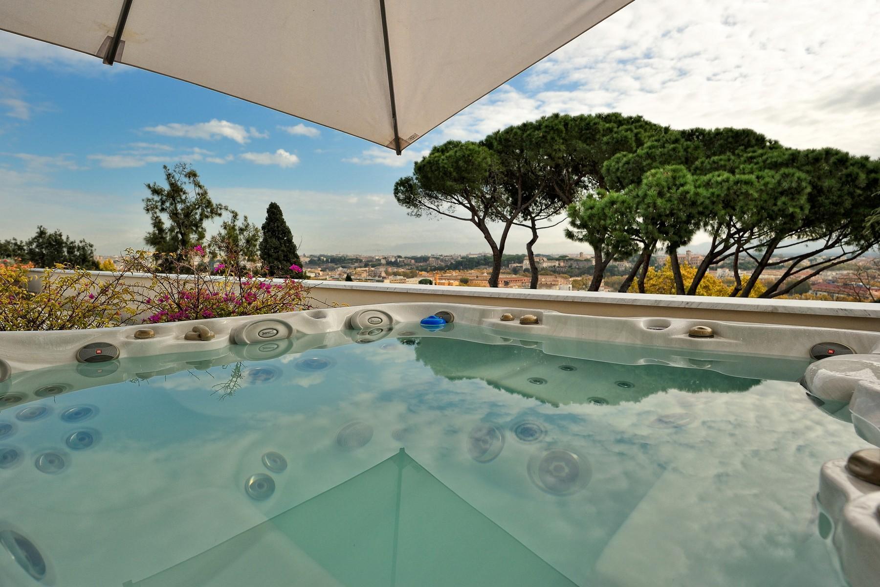绿色罗马市中心内富有格调和风格的别墅 - 5