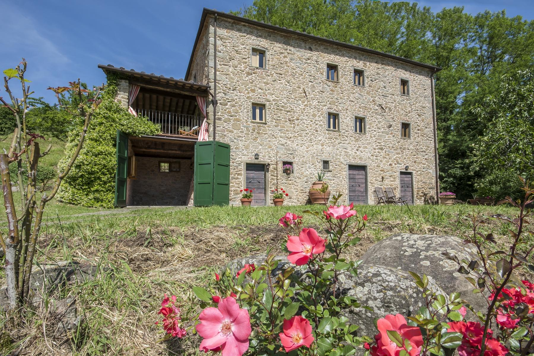 Medieval farmhouse immersed in the green of the Tuscan hills - 5