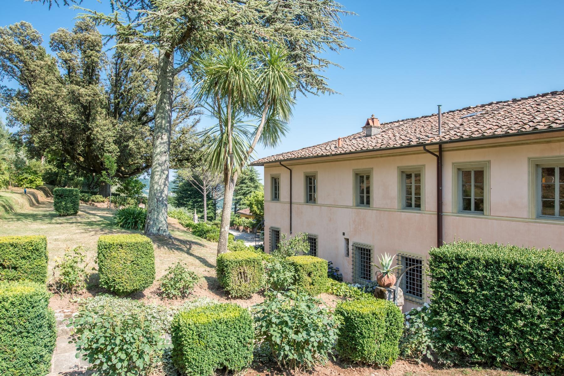 邻近Lucca的18世纪的宏伟别墅 - 12
